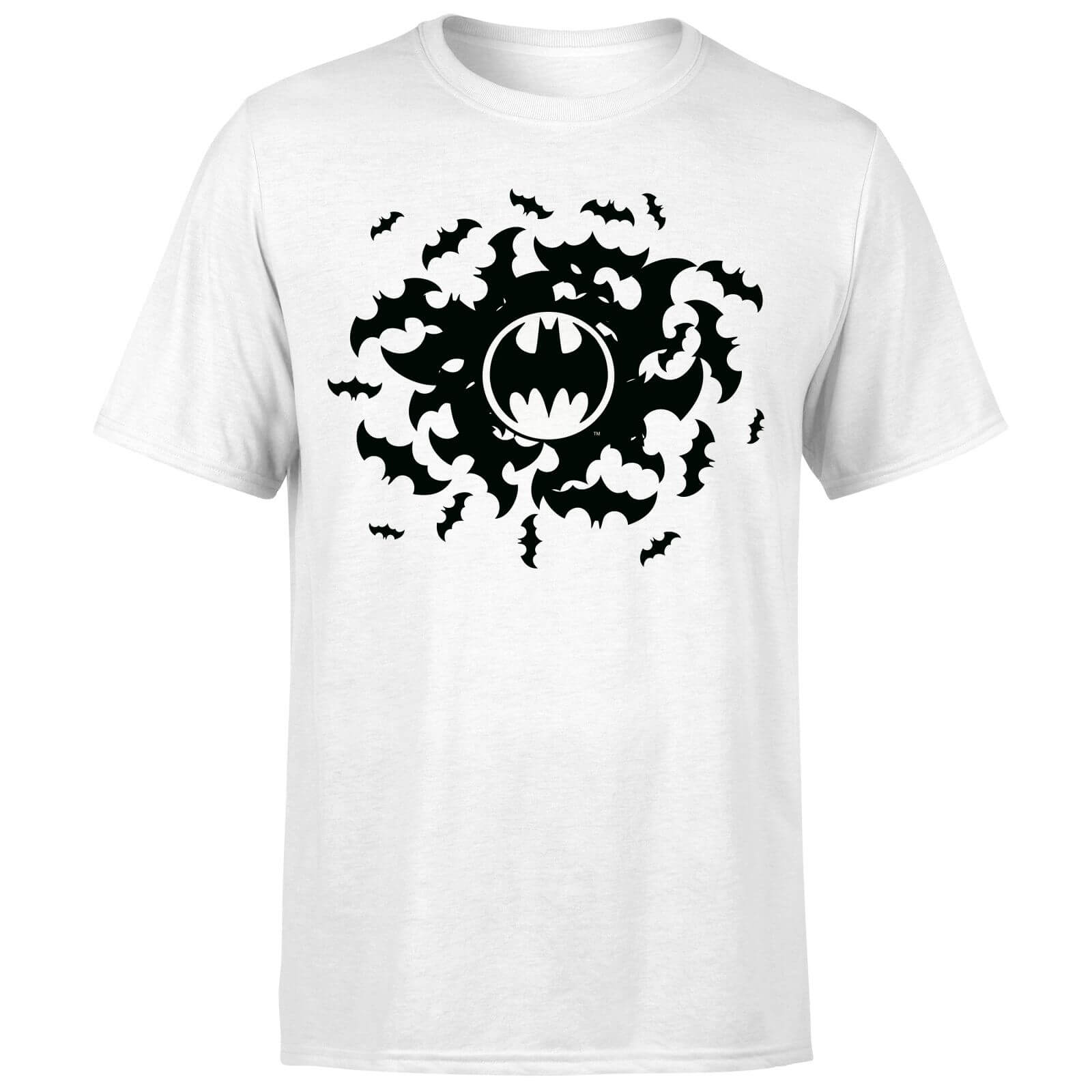 DC Comics Batman Bat Swirl T-Shirt - White