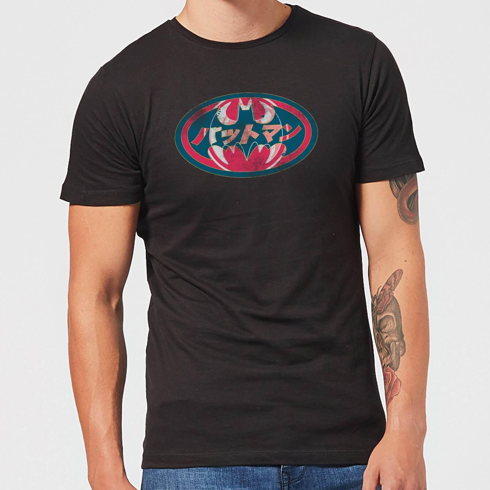 78fee8f5f DC Comics Batman Japanese Logo T-Shirt - Black Clothing | Zavvi