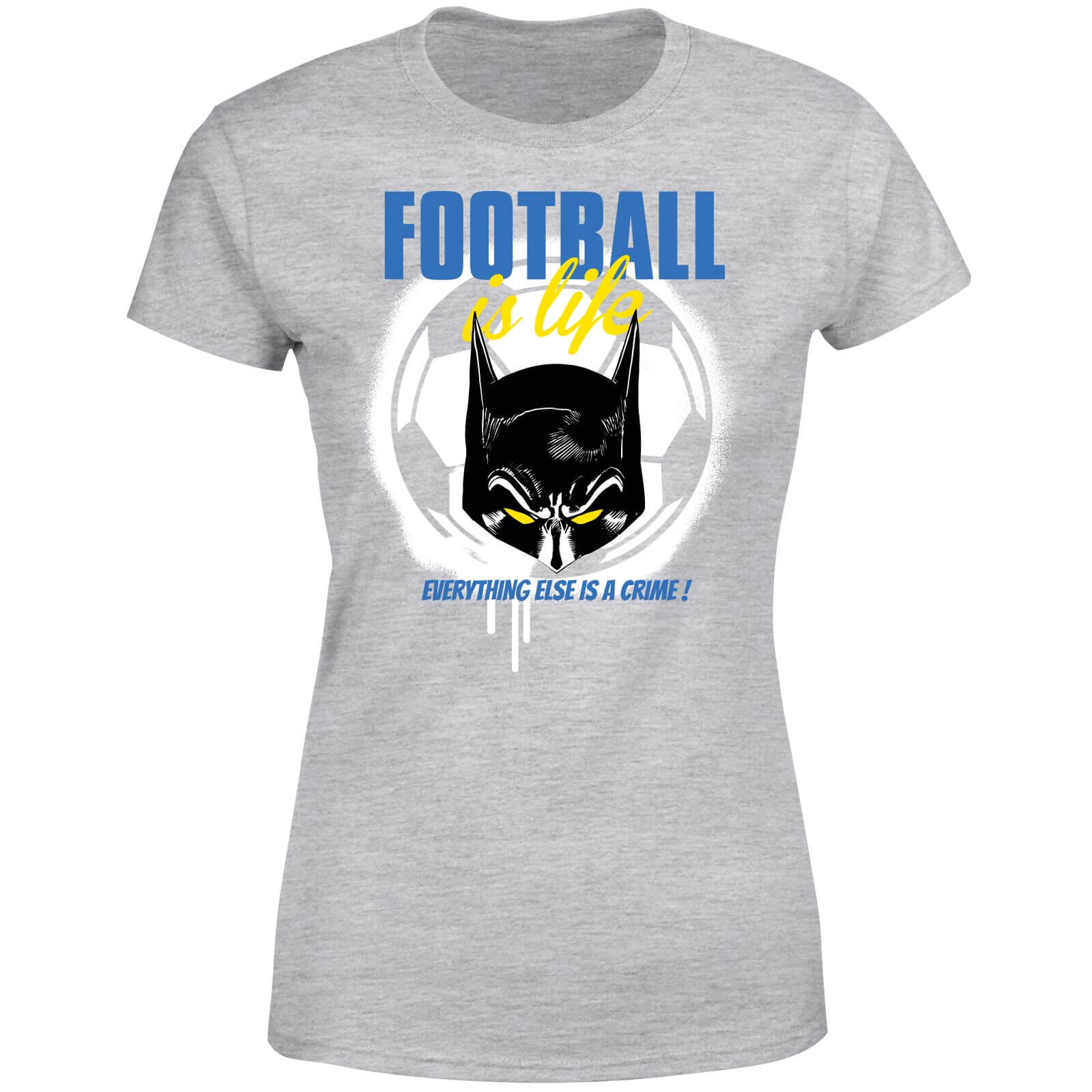DC Comics Batman Football Is Life Women