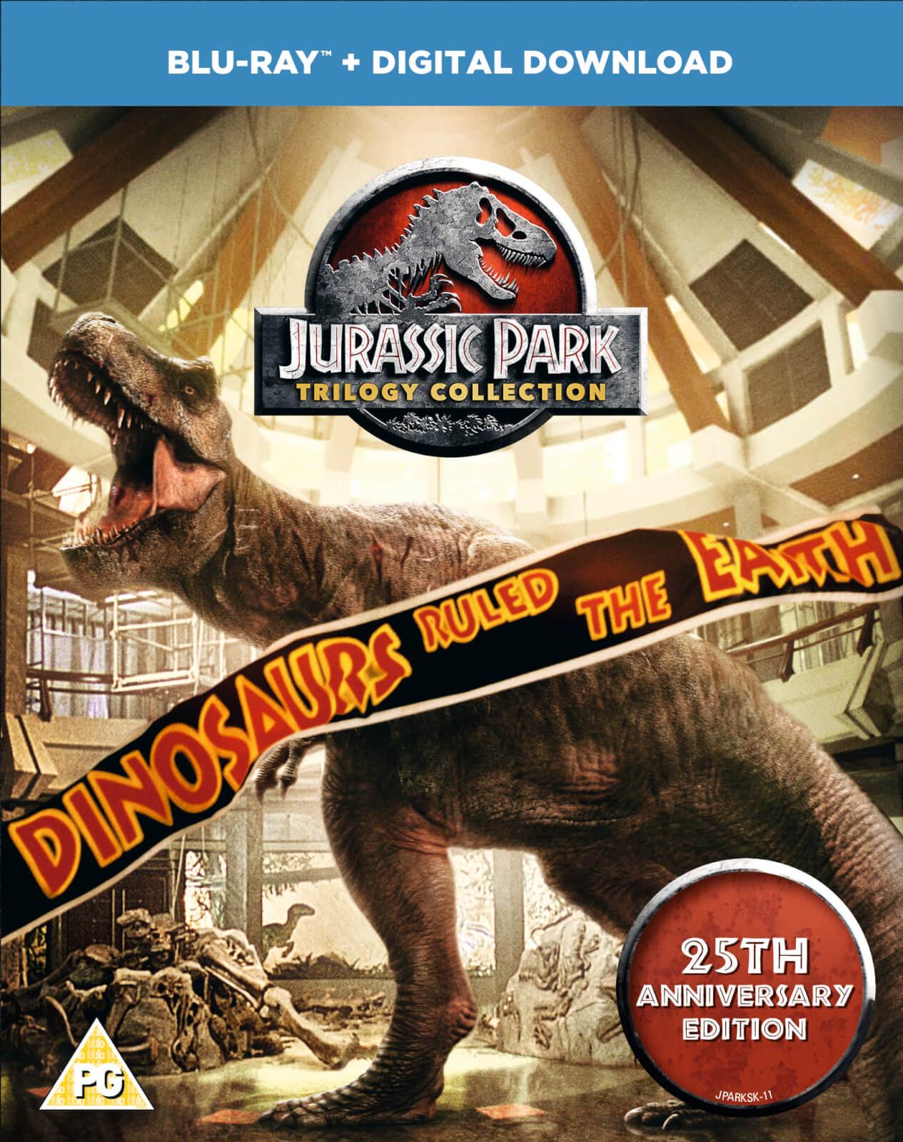 Jurassic Park Trilogy Blu Ray Zavvi