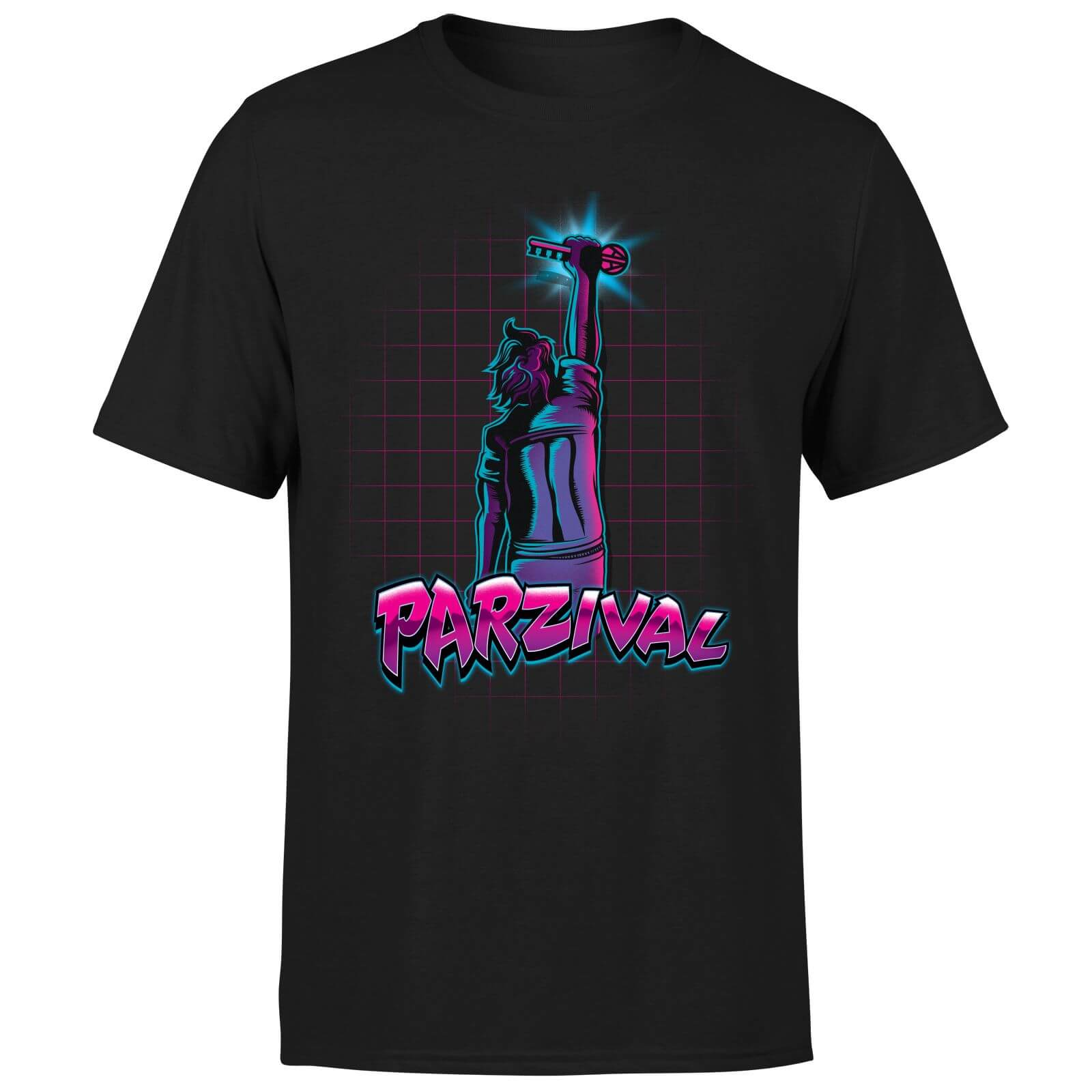 Ready Player One Parzival Key T-Shirt - Black