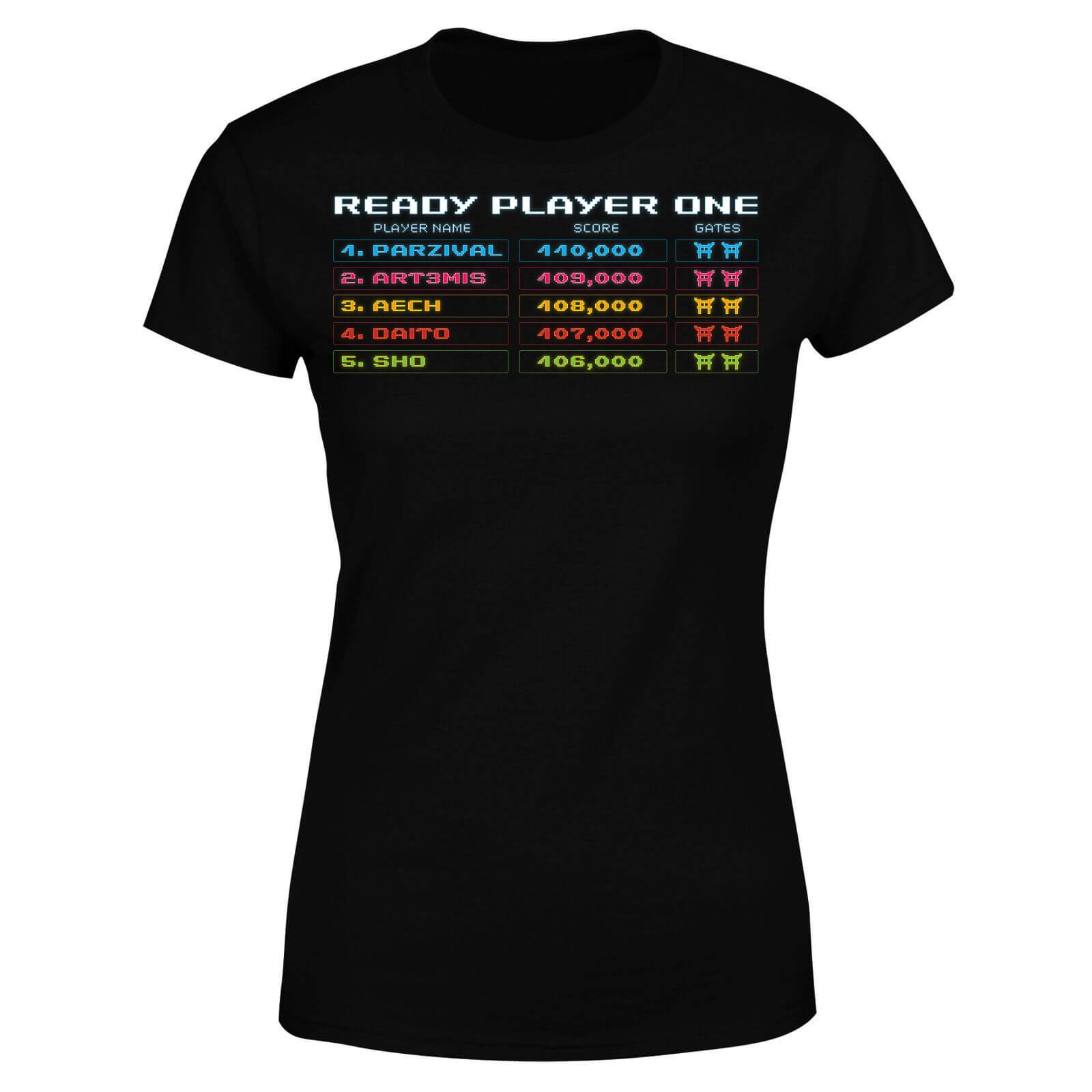 Ready Player One 8 Bit Scoreboard Women