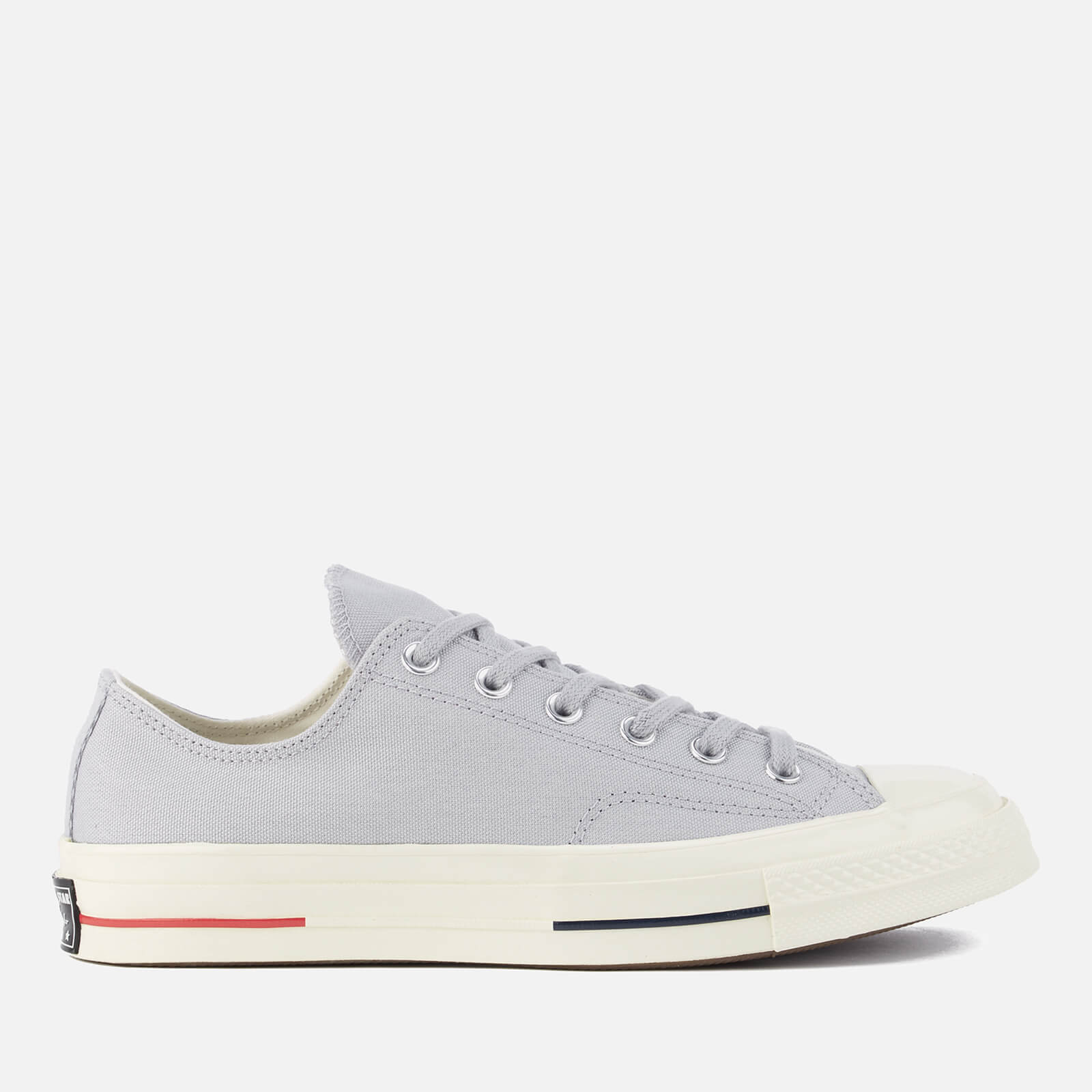 52923faaa609 Converse Men s Chuck Taylor All Star  70 Ox Trainers - Wolf Grey Navy Gym  Red - Free UK Delivery over £50