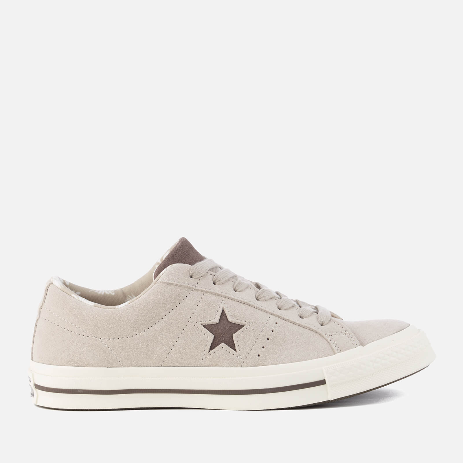 c1451d710b08 Converse Men s One Star Ox Trainers - Papyrus Dark Chocolate Egret Mens  Footwear