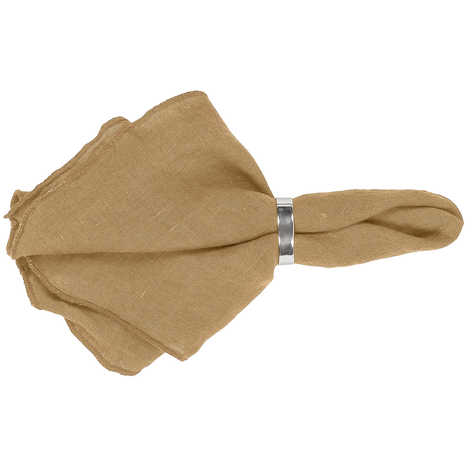 Broste Copenhagen Gracie Napkin - Indian Tan