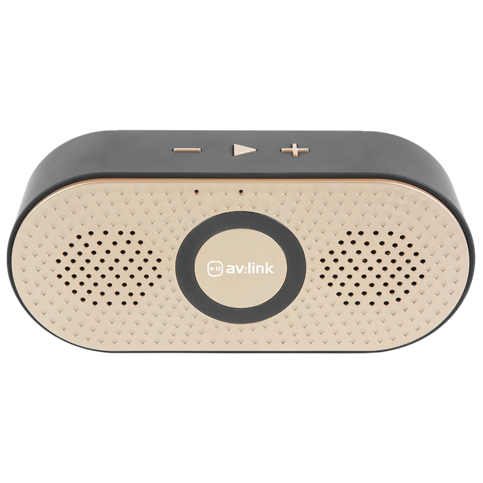 AV: Link Portable 4.2 Bluetooth Speaker - Gold