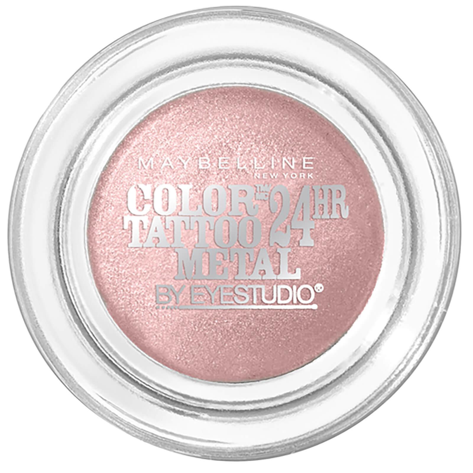 Maybelline Color Tattoo Metal 24hr Cream Gel Eye Shadow Inked In Pink