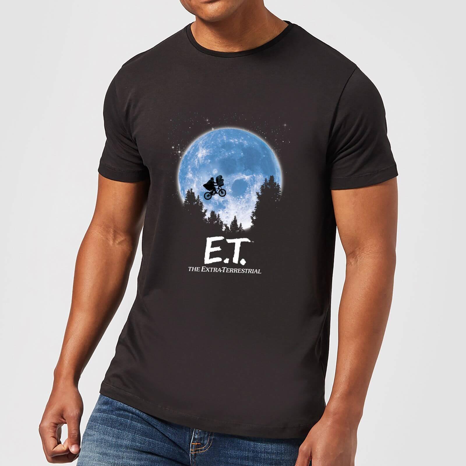 b30419d8 ET Moon Silhouette T-Shirt - Black Clothing | Zavvi