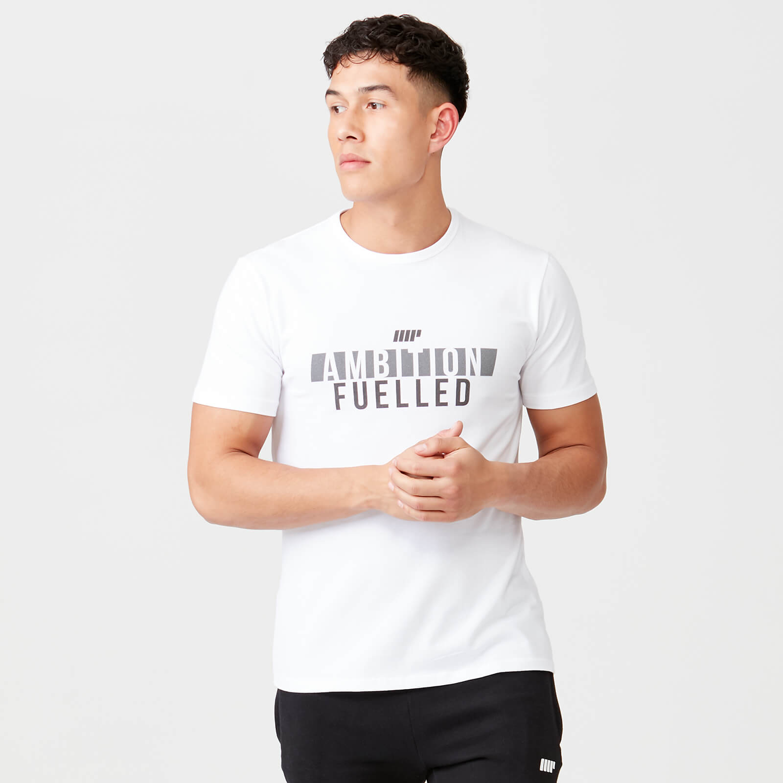 Ambition Fuelled T-Shirt - White - XS