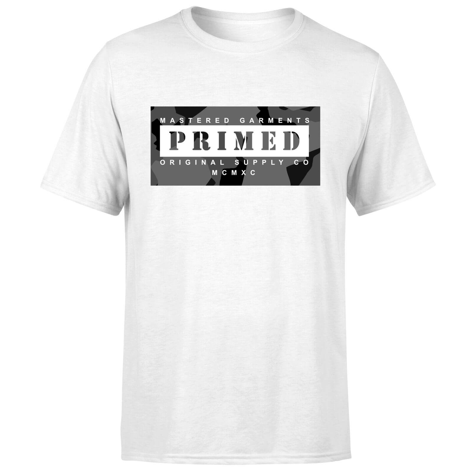 Primed Hidden T-Shirt - White