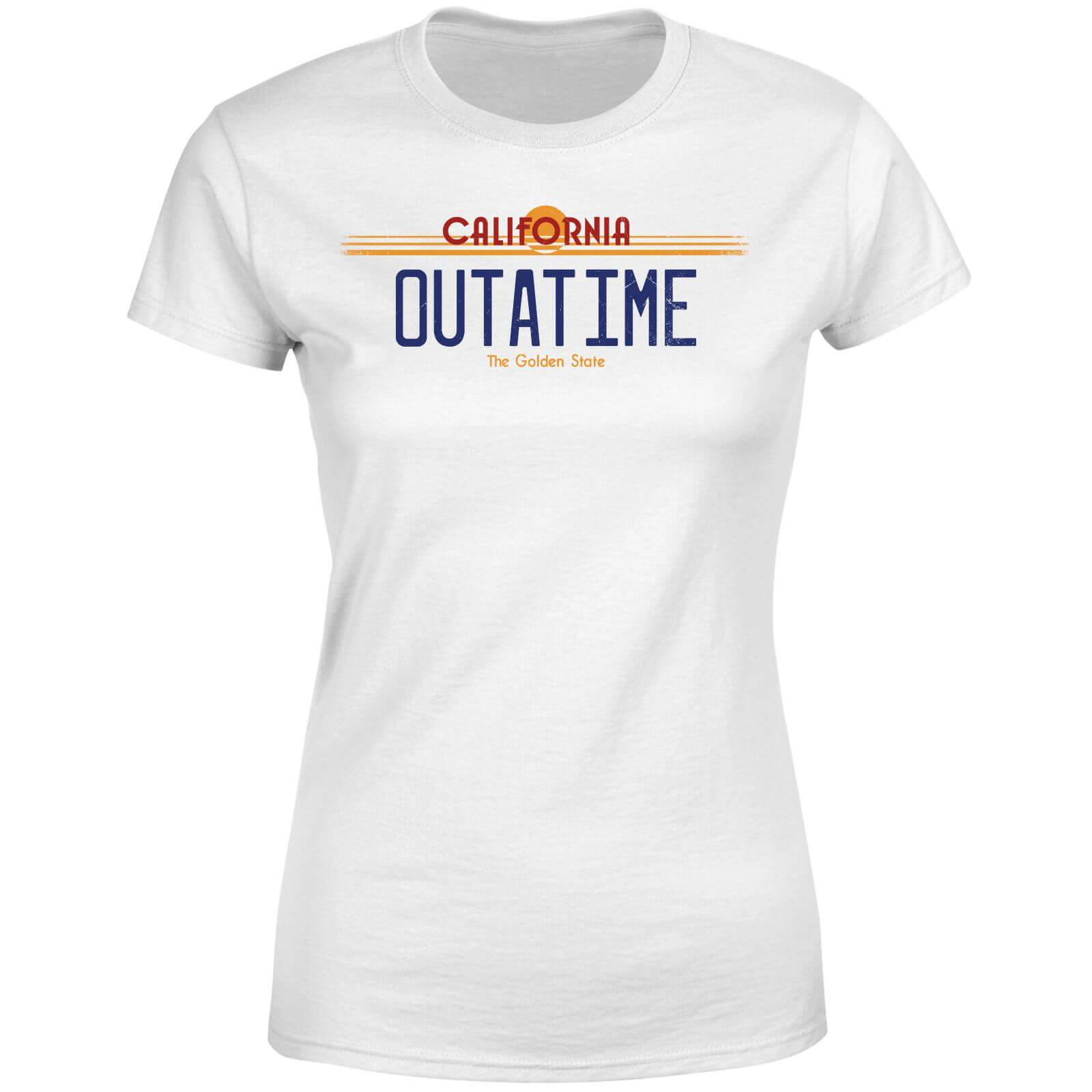 Back To The Future Outatime Plate Women