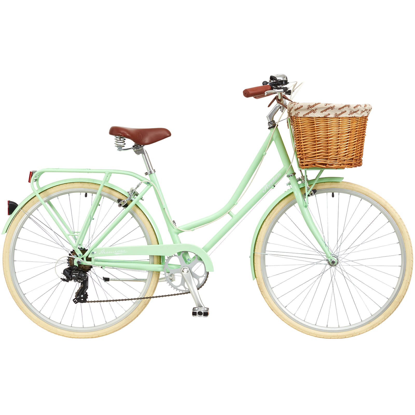 "Ryedale Hermione Ladies 26"" Wheel 7 Speed Traditional Bike Peppermint (RYD27-26)"