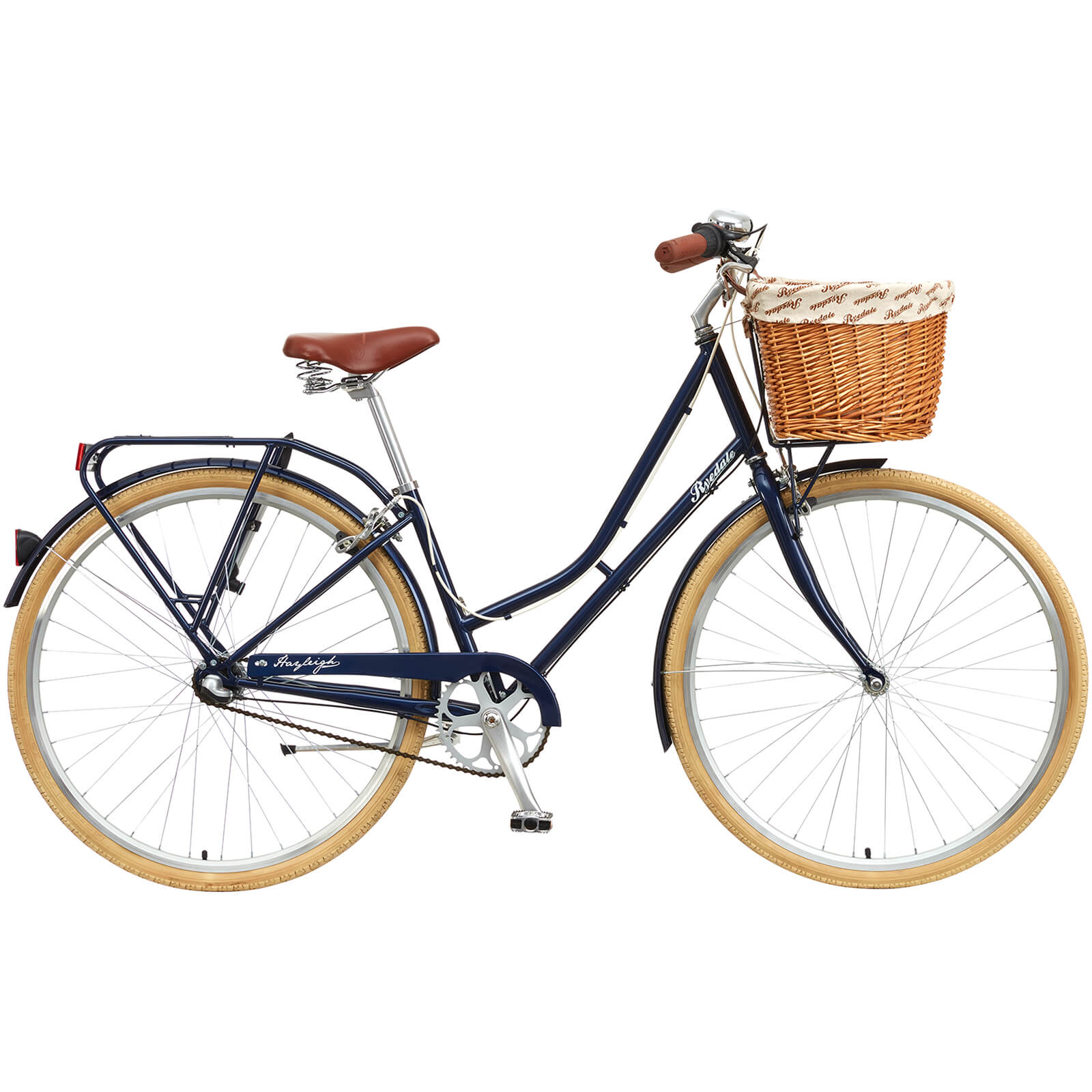 Ryedale Hayleigh 700C Blueberry Ladies Traditional 3 Speed Bike (2017 Model)