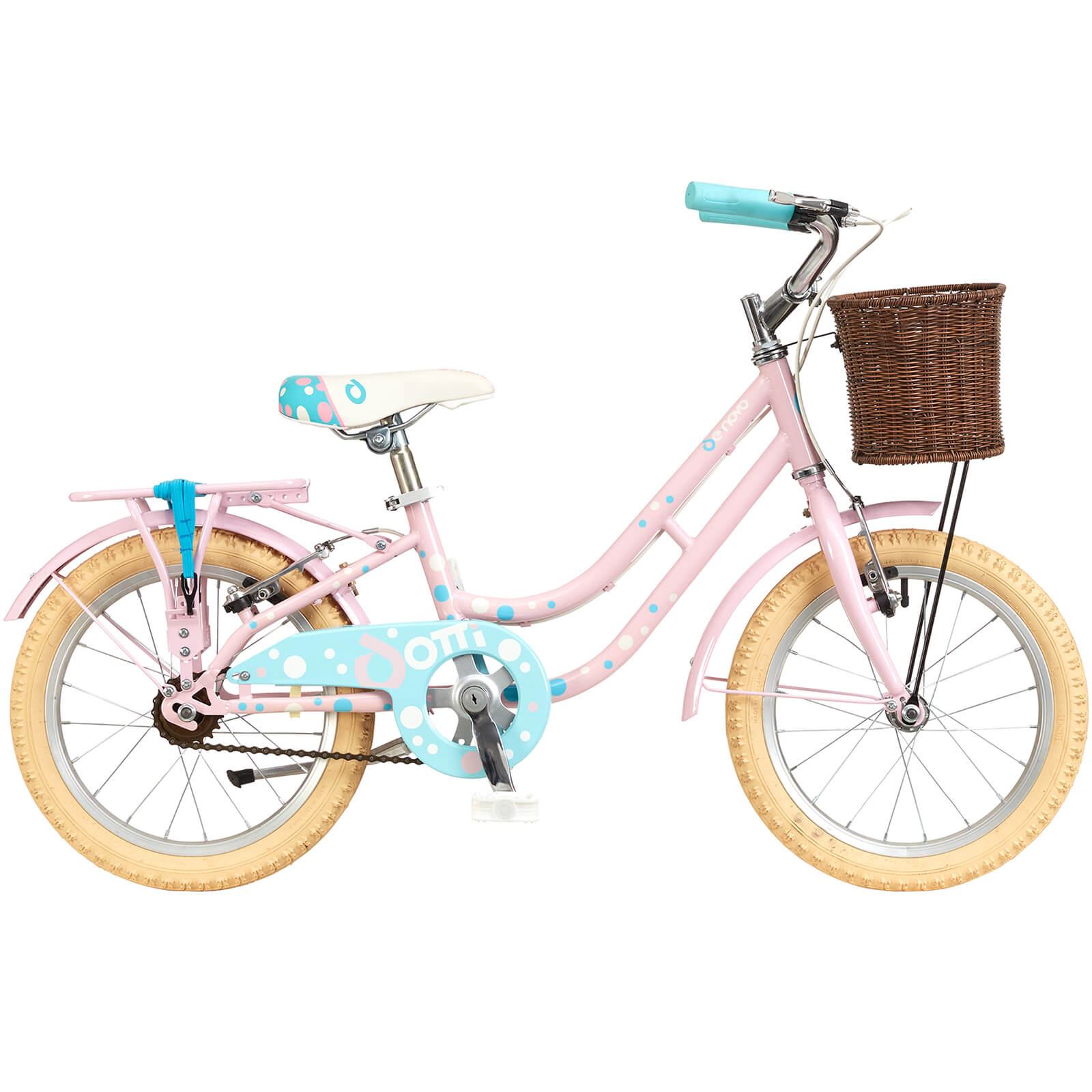 "Denovo Dotti Heritage Girls Bike - 16"" Wheel"