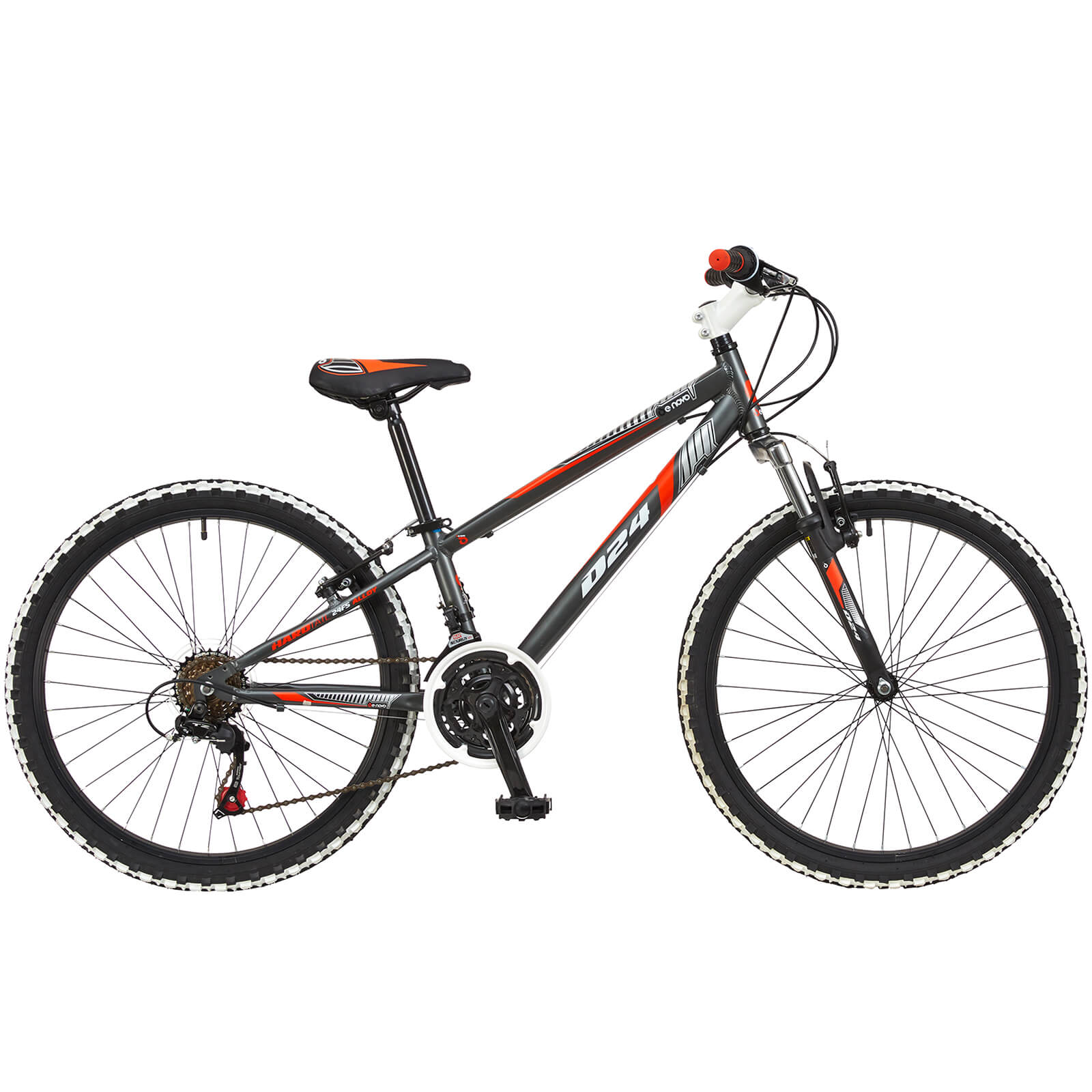6a7727c2e Denovo Boys Suspension Alloy Bike - 24
