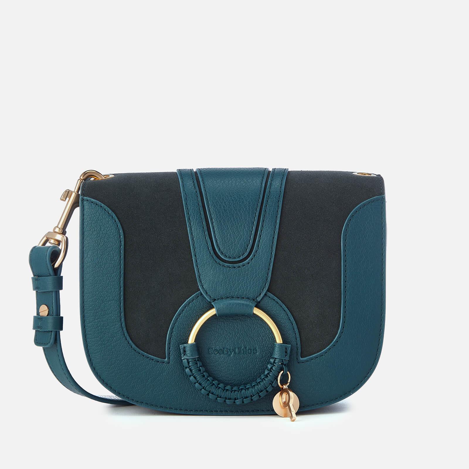 9d8b948e5e See By Chloé Women's Hana Leather Cross Body Bag - Steel Blue