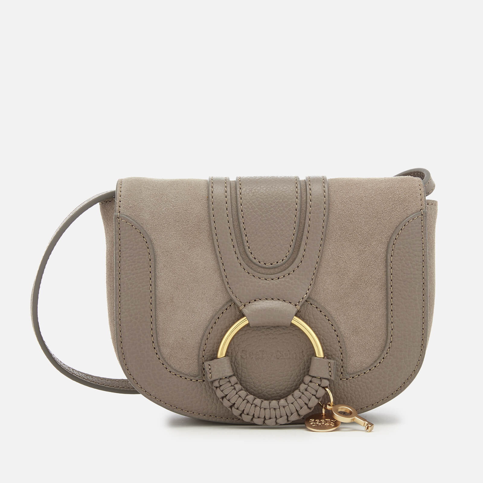 good quality 100% satisfaction guarantee 60% discount See By Chloé Women's Hana Small Leather Cross Body Bag - Motty Grey