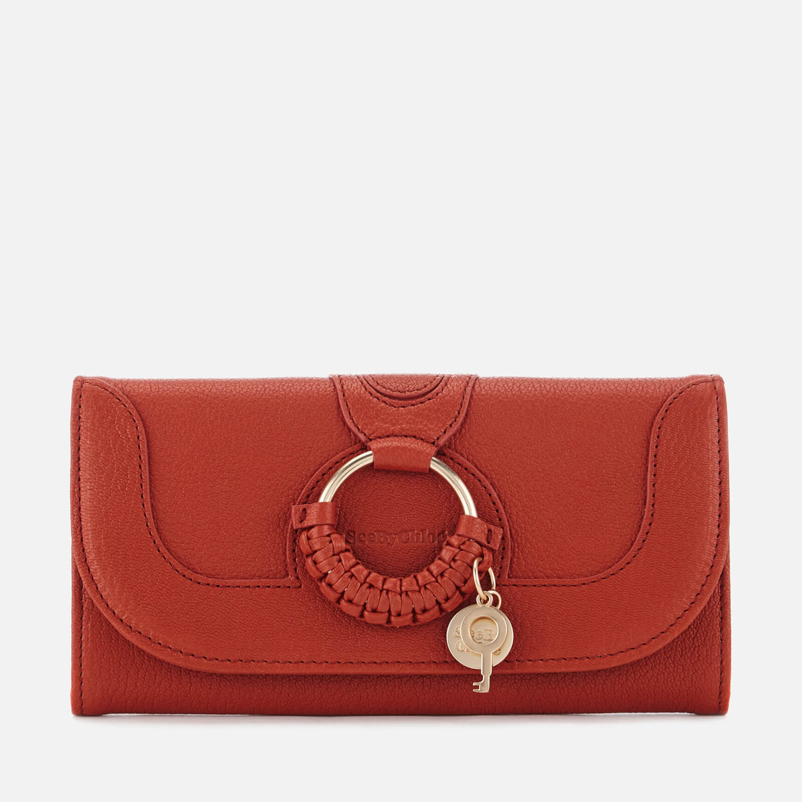 7c0a30acf6 See By Chloé Women's Hana Long Wallet - Red Sand