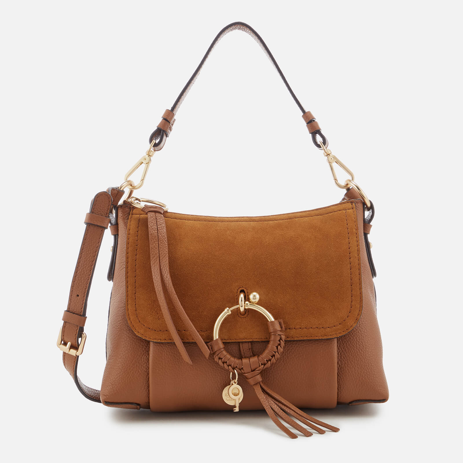 f3081e466102 See By Chloé Women s Joan Hobo Bag - Caramello - Free UK Delivery over £50
