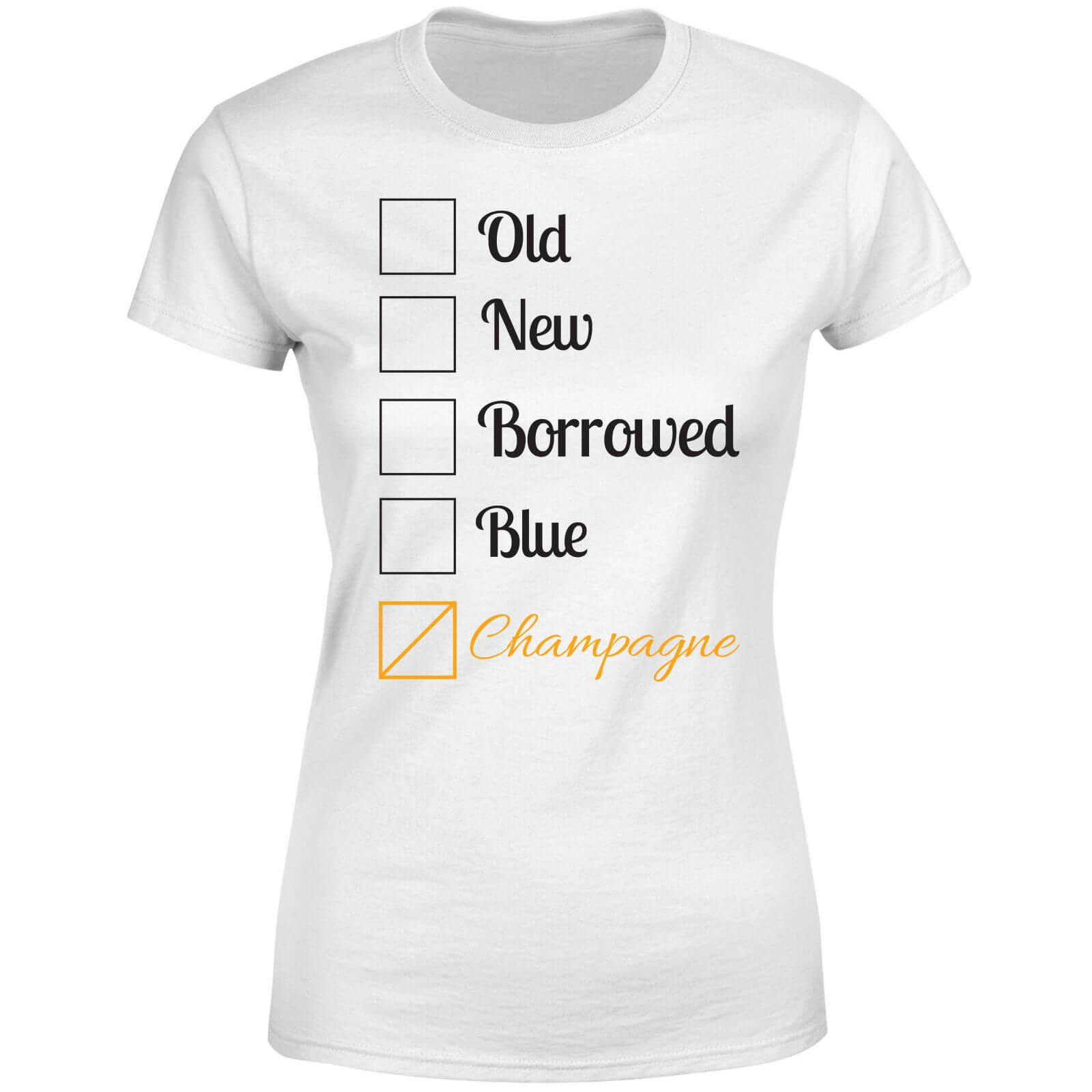 Champagne Tick Box Women