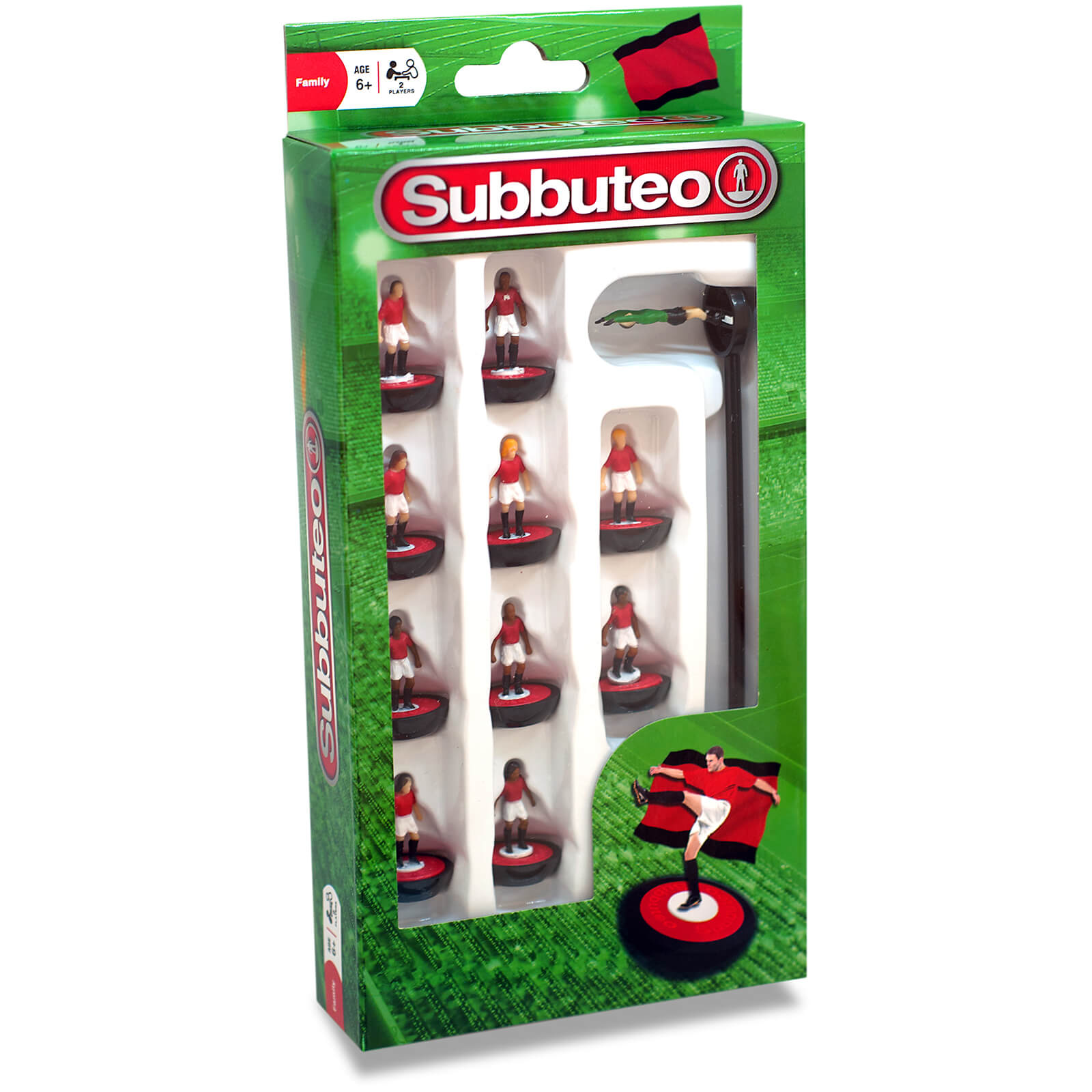 Subbuteo Red/White/Black Team