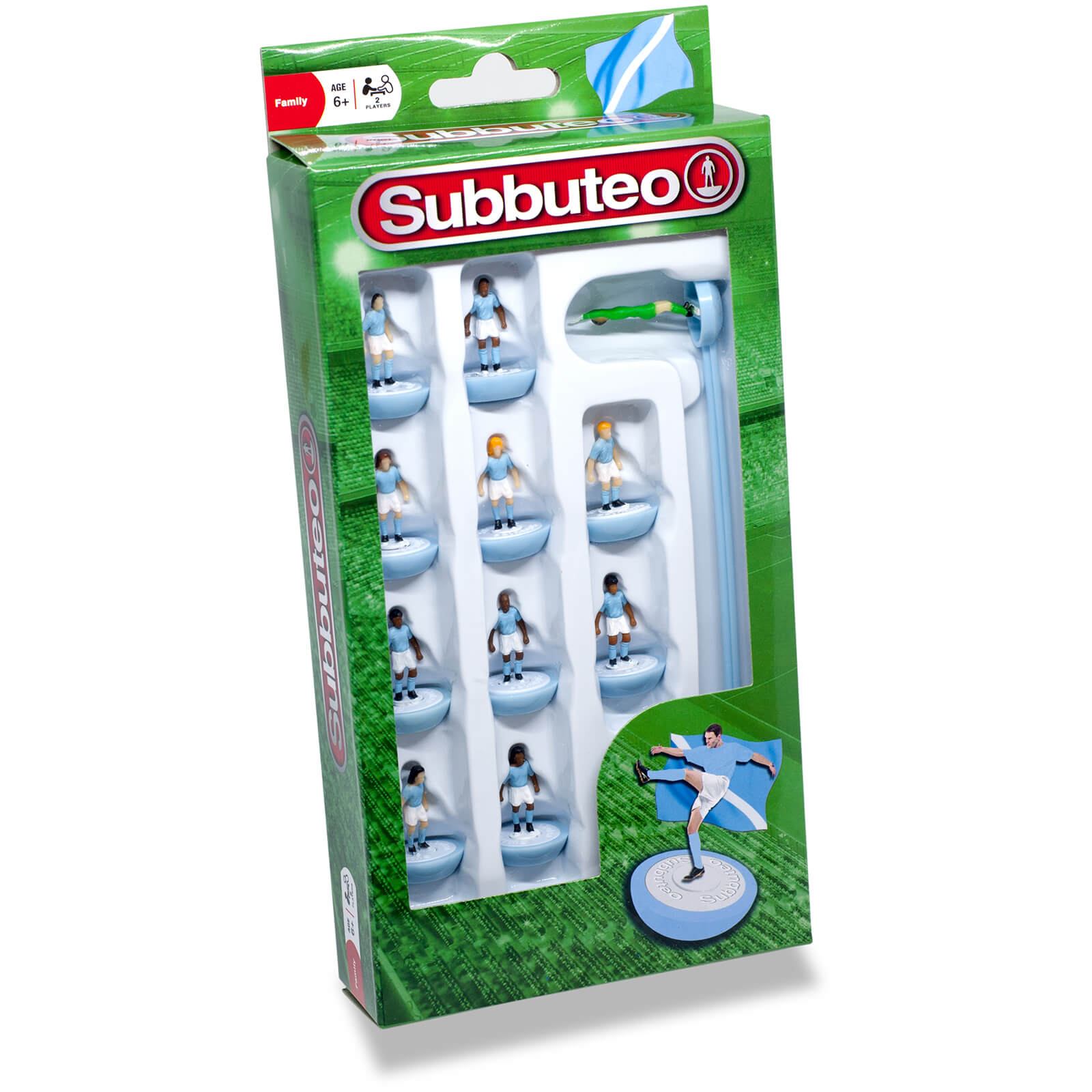 Subbuteo Light Blue/White Team