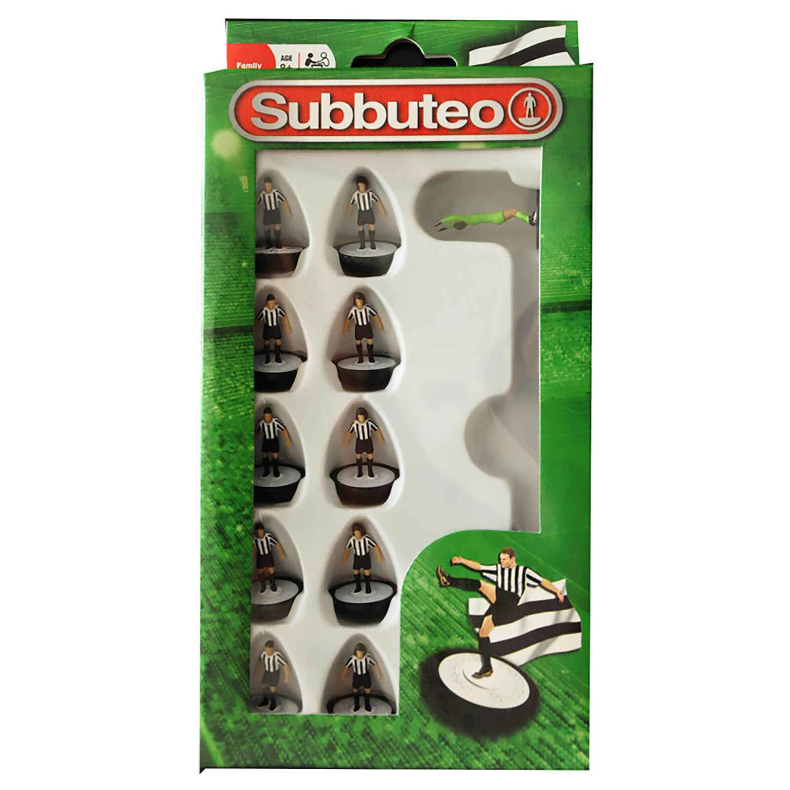 Subbeteo Black and White Team