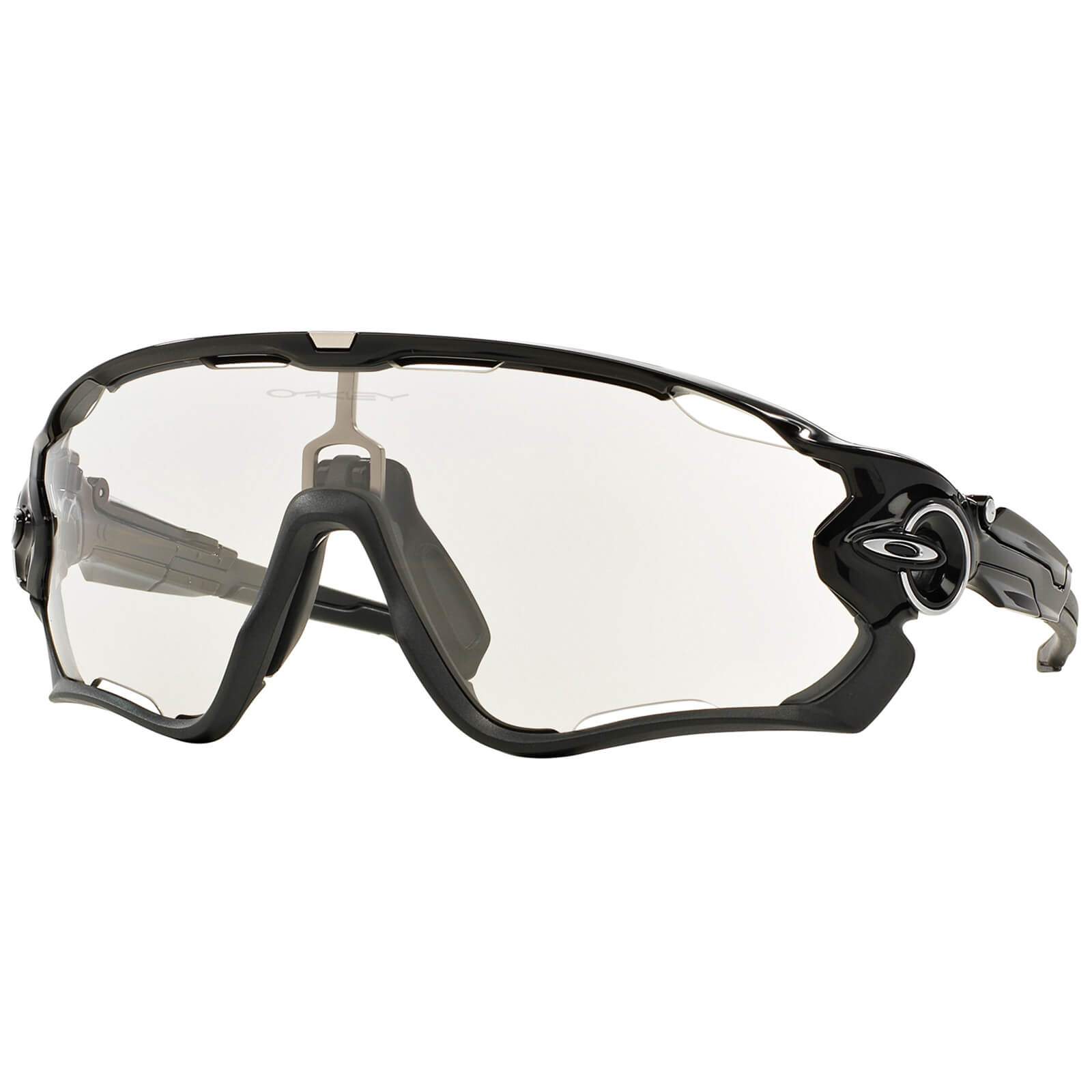 Oakley Jawbreaker Photochromic ロード・サングラス - Polished Black
