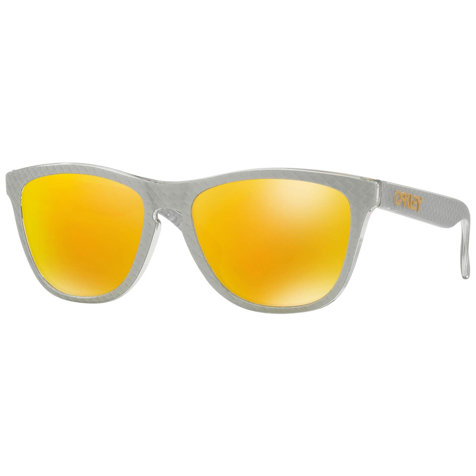 ee7405b233 Oakley Frogskins Limited Edition Sunglasses - Checkbox Silver Fire Iridium