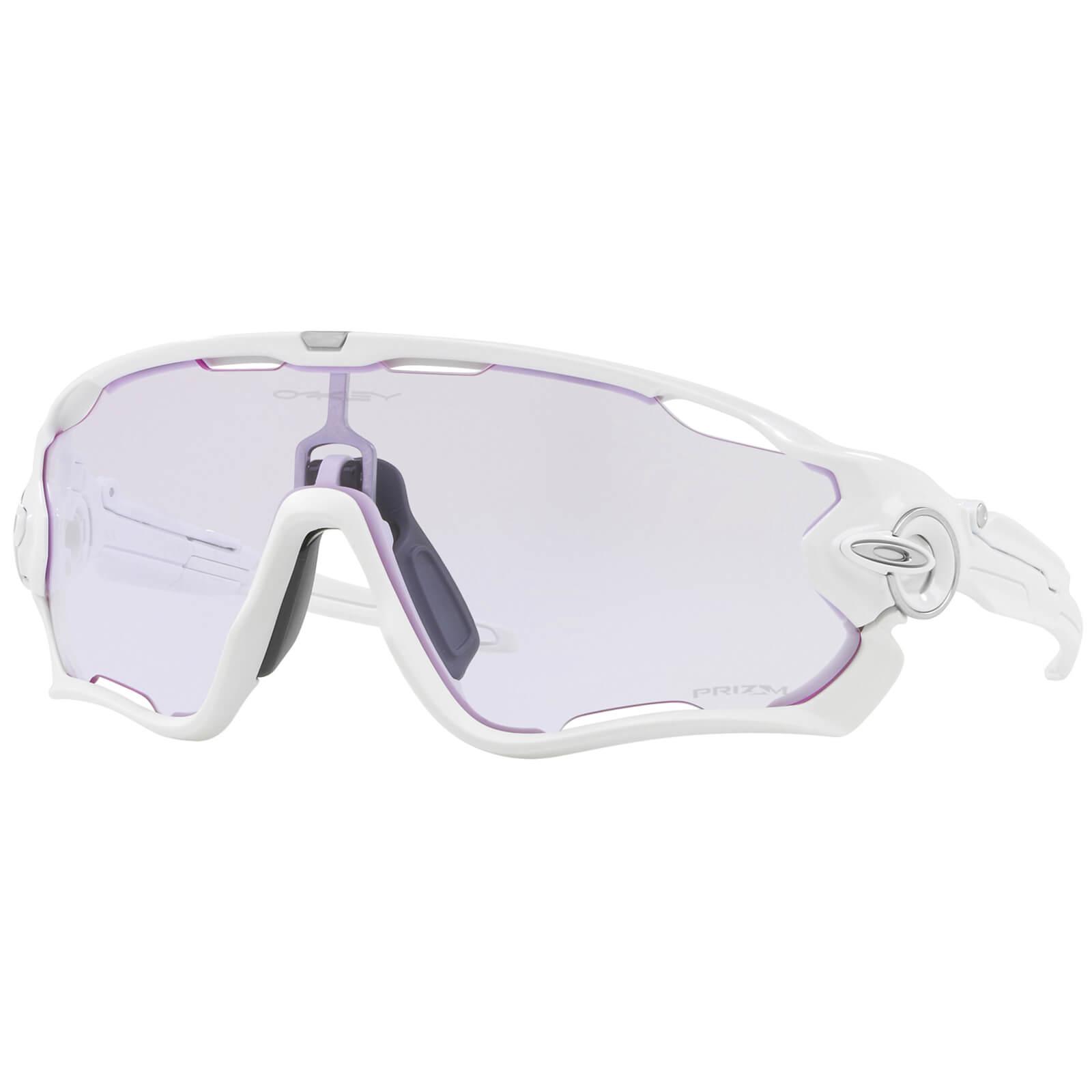 9c190ff9ca Oakley Jawbreaker Sunglasses - Polished White Prizm Low Light ...