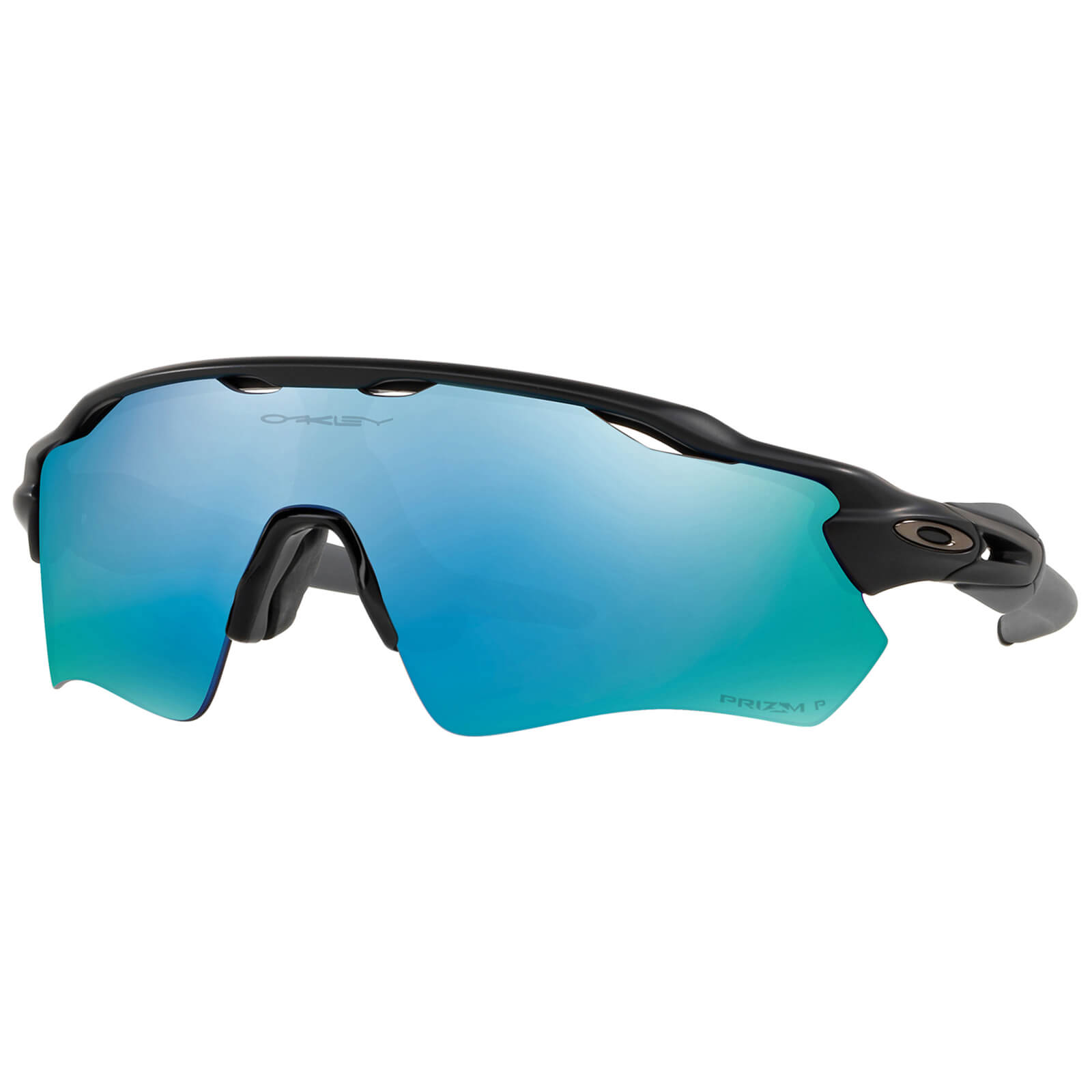 f9f97f76ef Oakley Radar EV Path Prizm Polarised Sunglasses - Matte Black Deep Water  Prizm