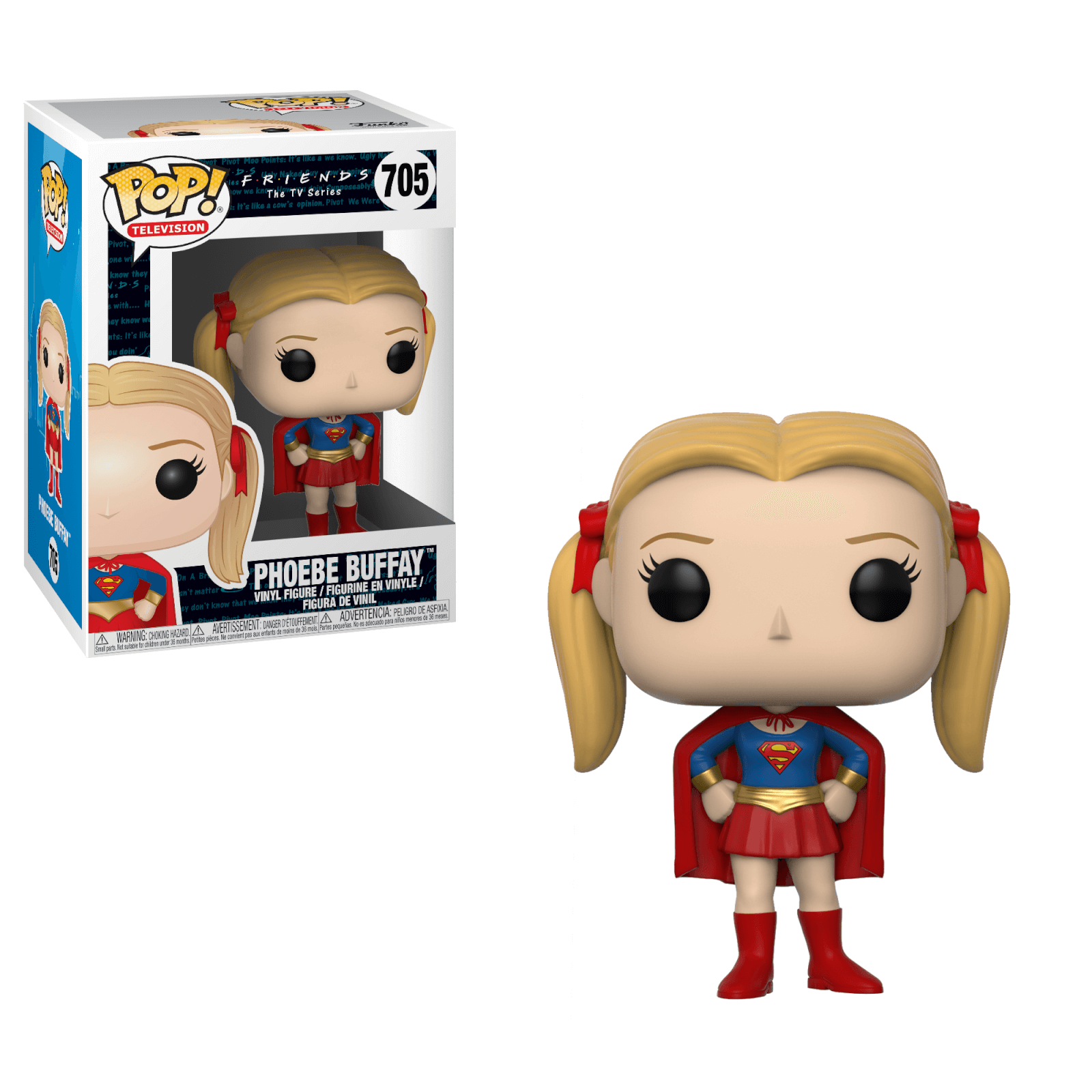 Friends Superhero Pheobe Pop! Vinyl Figure
