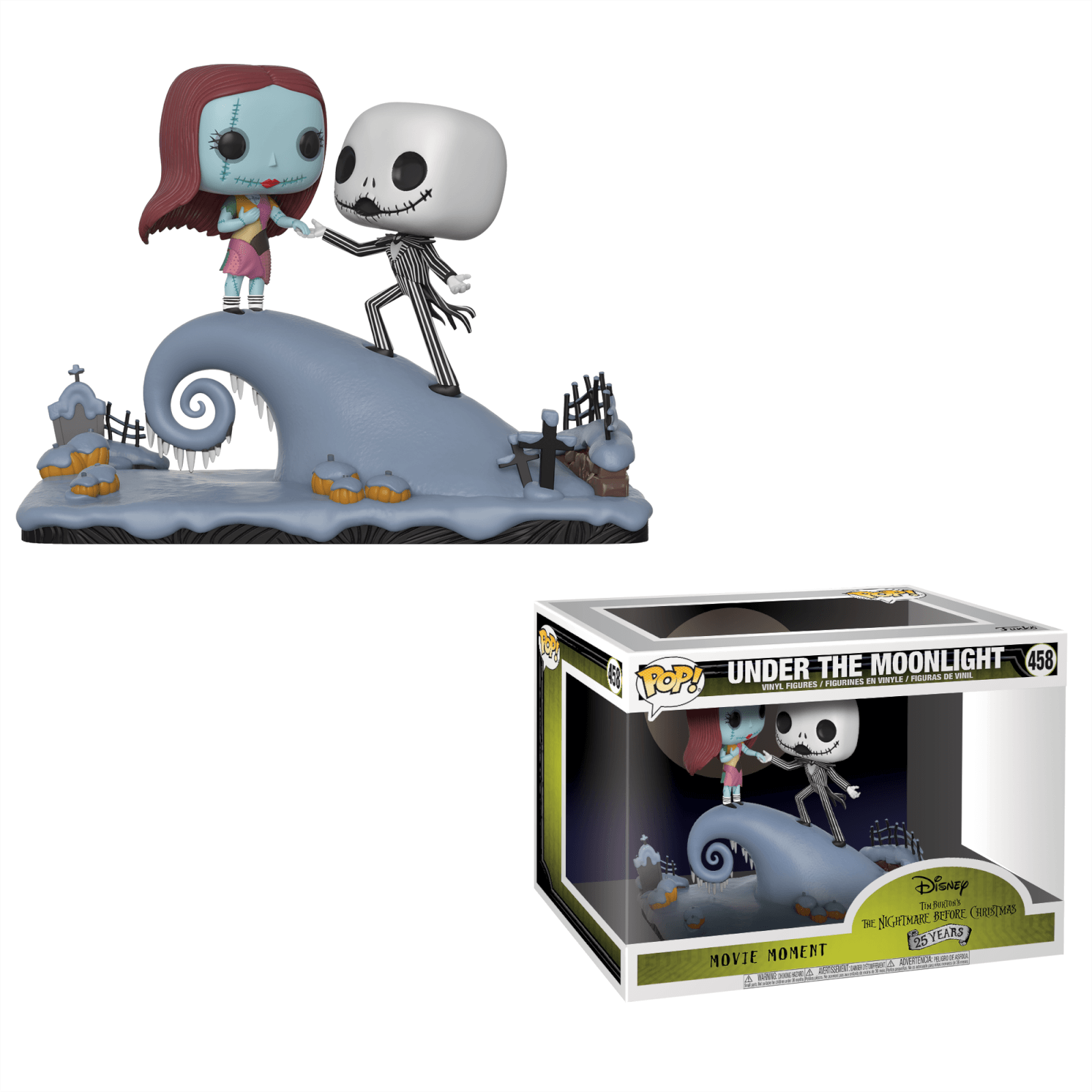 nightmare before christmas jack and sally pop movie moment pop in a box us - The Nightmare Before Christmas Jack And Sally