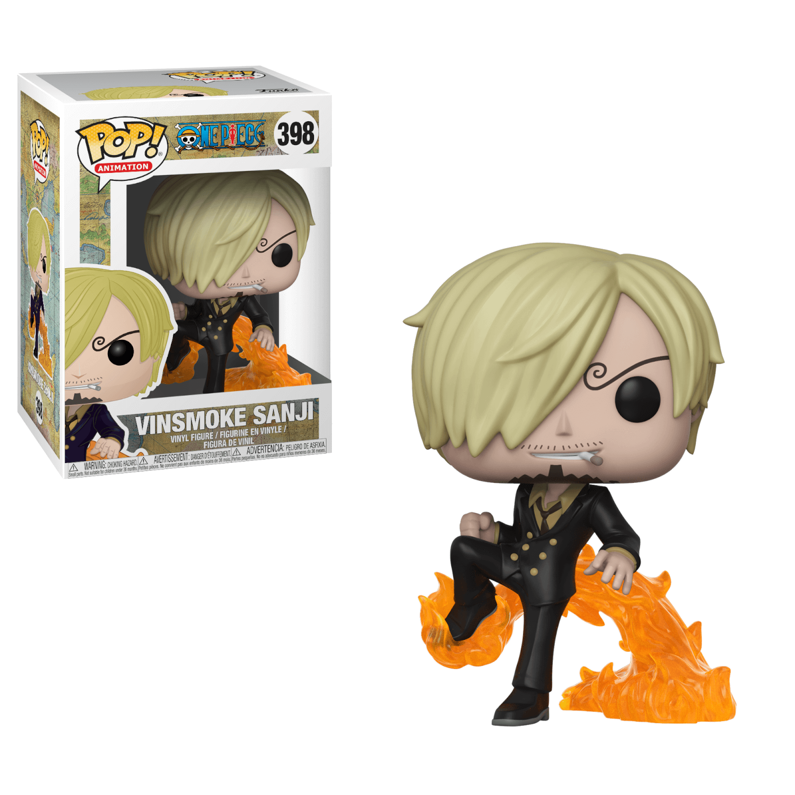 Figurine Pop Sanji Fishman One Piece Pop In A Box