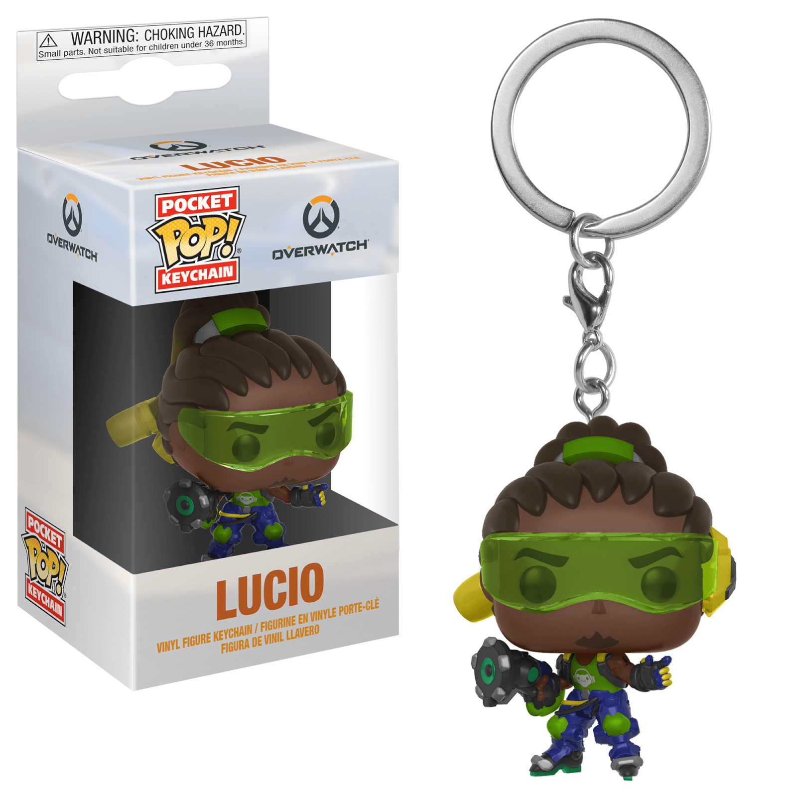 Overwatch Lucio Pop! Keychain