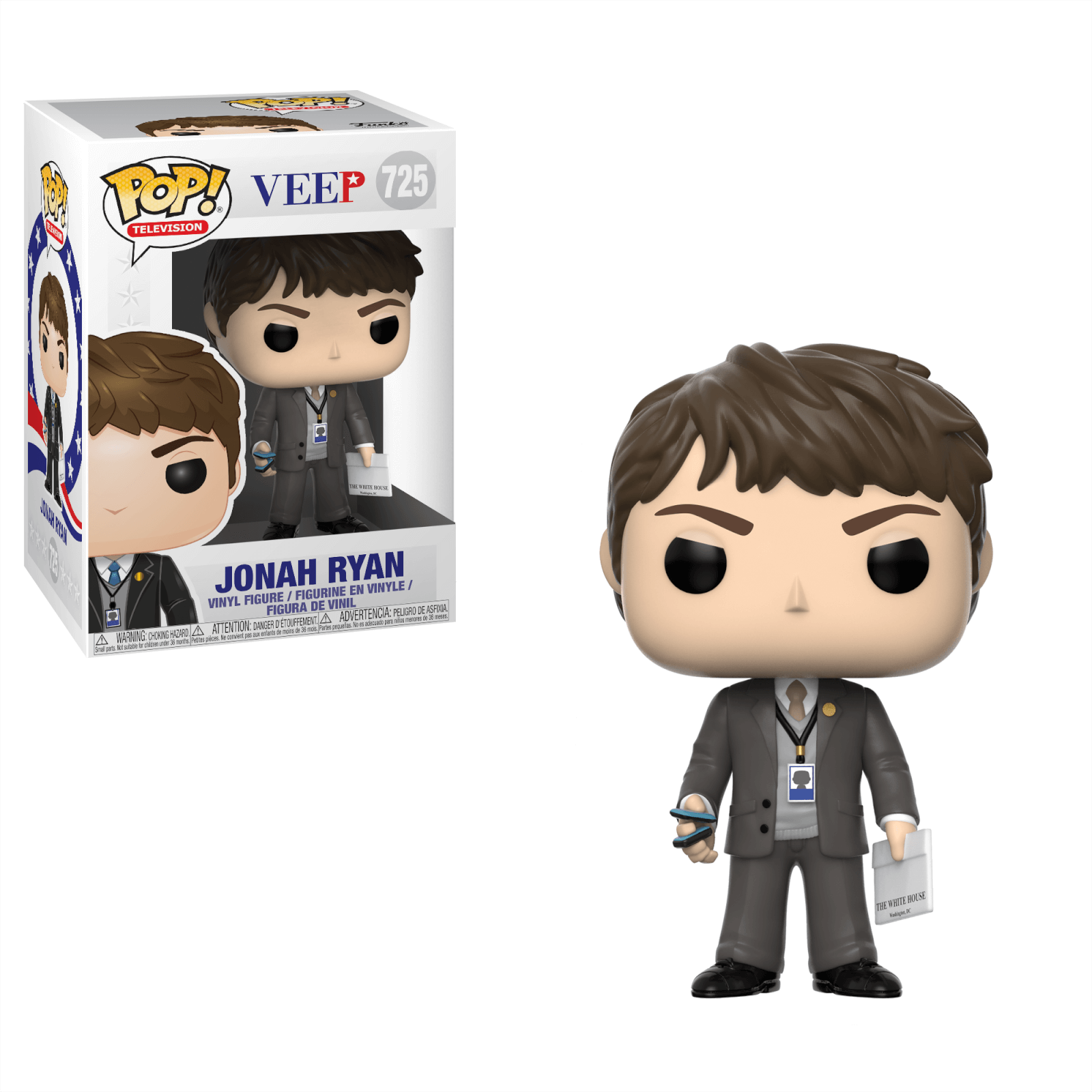 Veep Jonah Ryan Pop! Vinyl Figure
