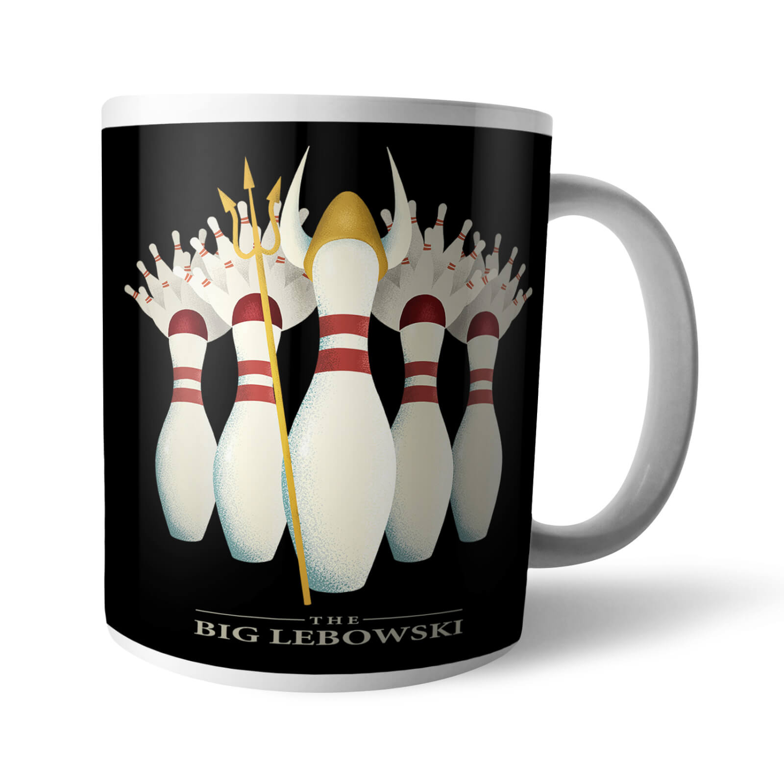 The Big Lebowski Pin Girls Mug