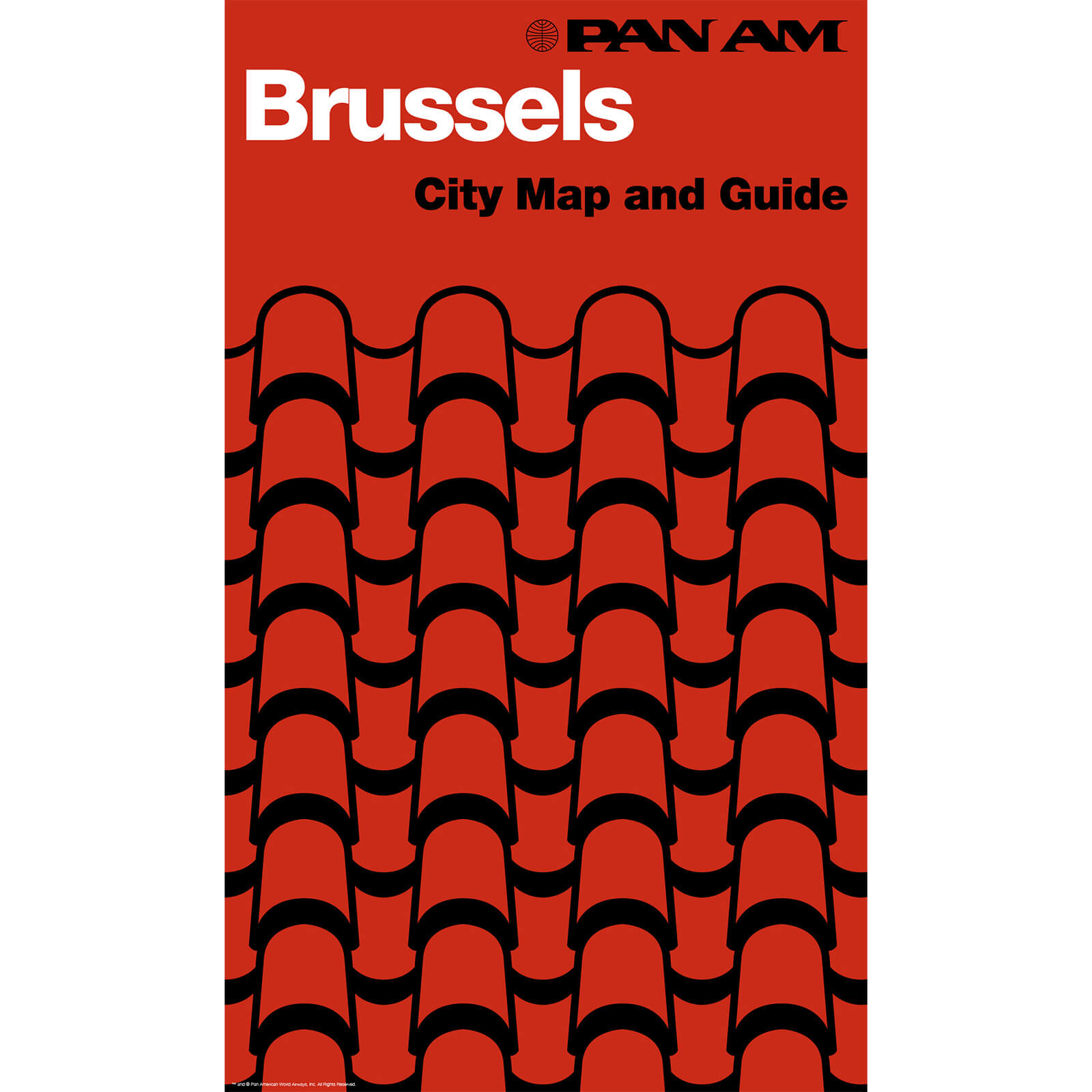 PAN AM Brussels Print