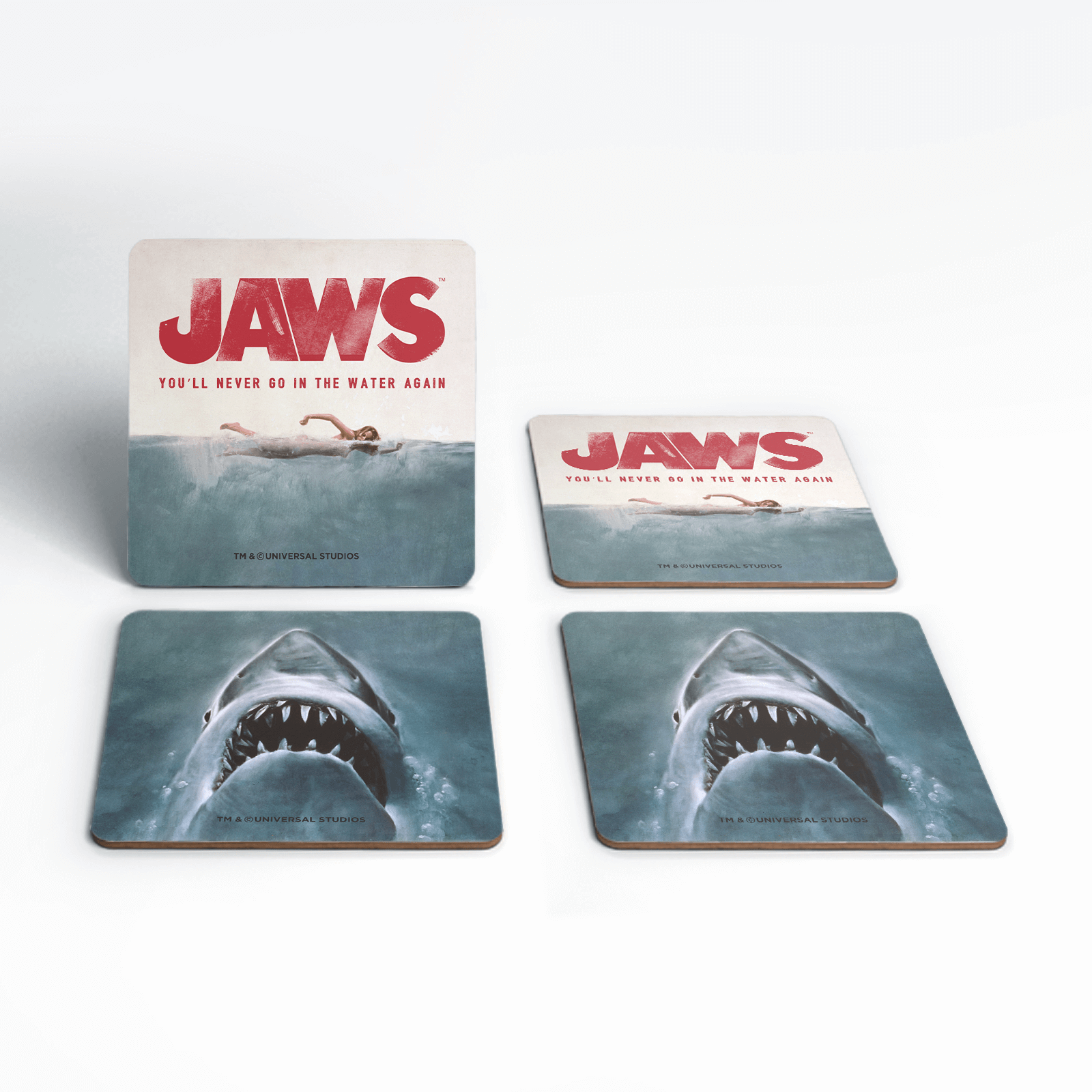 Jaws Classic Coaster Set