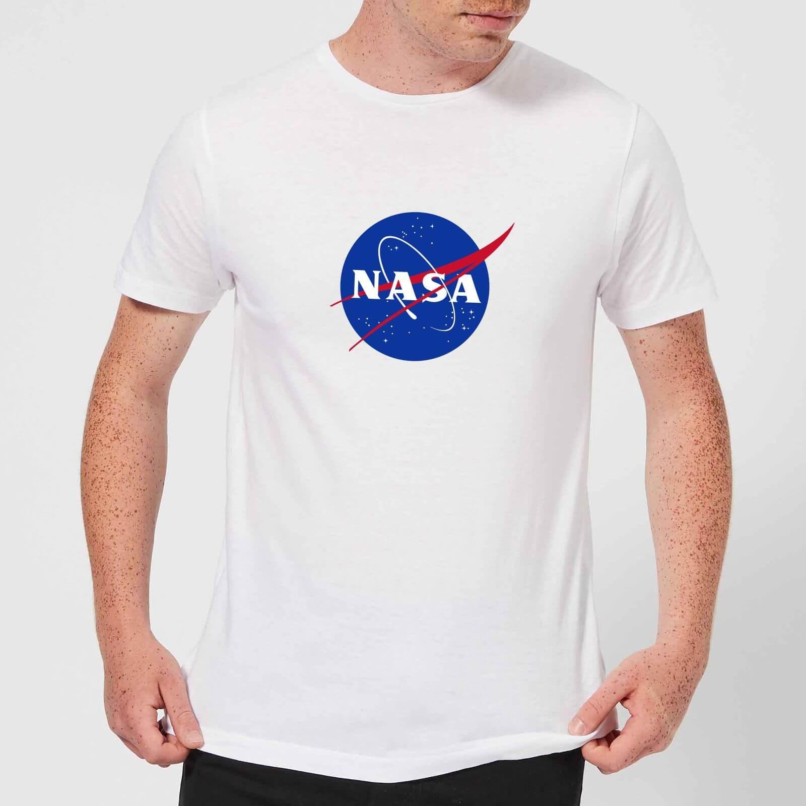 d7321c70dbe NASA Logo Insignia T-shirt - Wit | Zavvi.nl