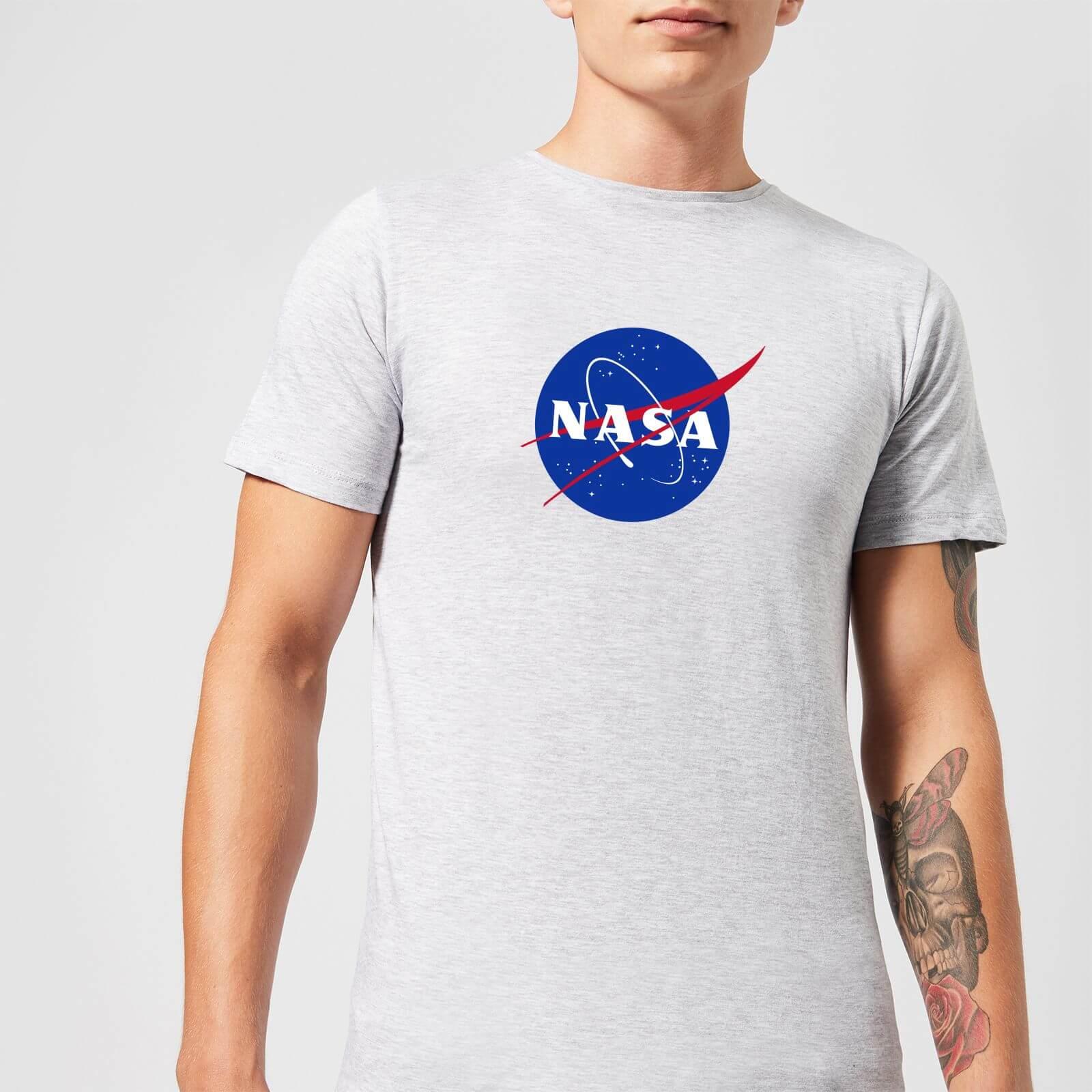 NASA Logo Insignia T-Shirt - Grey