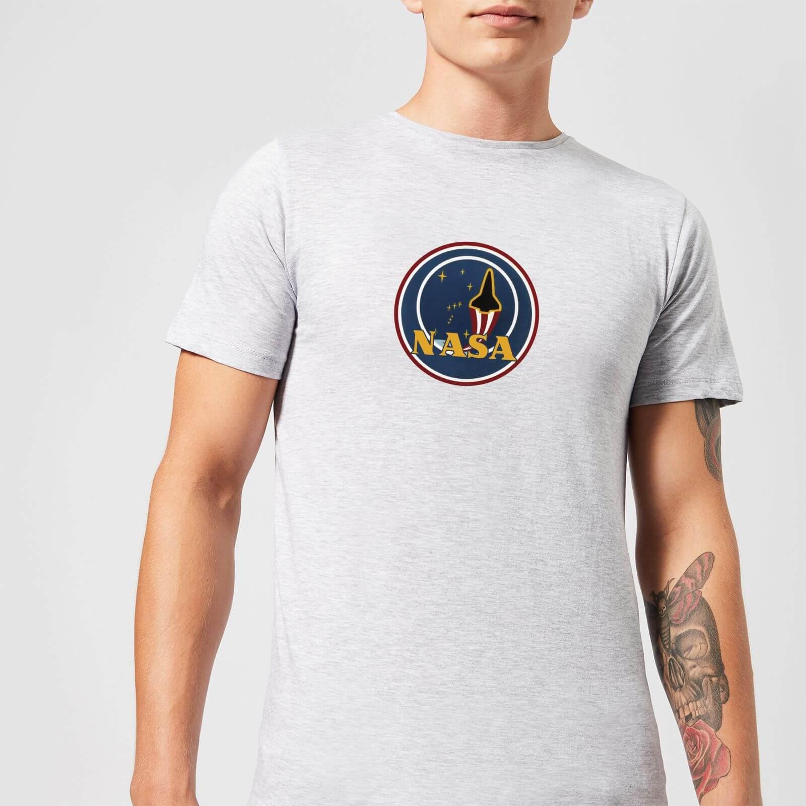 NASA JM Patch T-Shirt - Grey Clothing  2a5eb385a