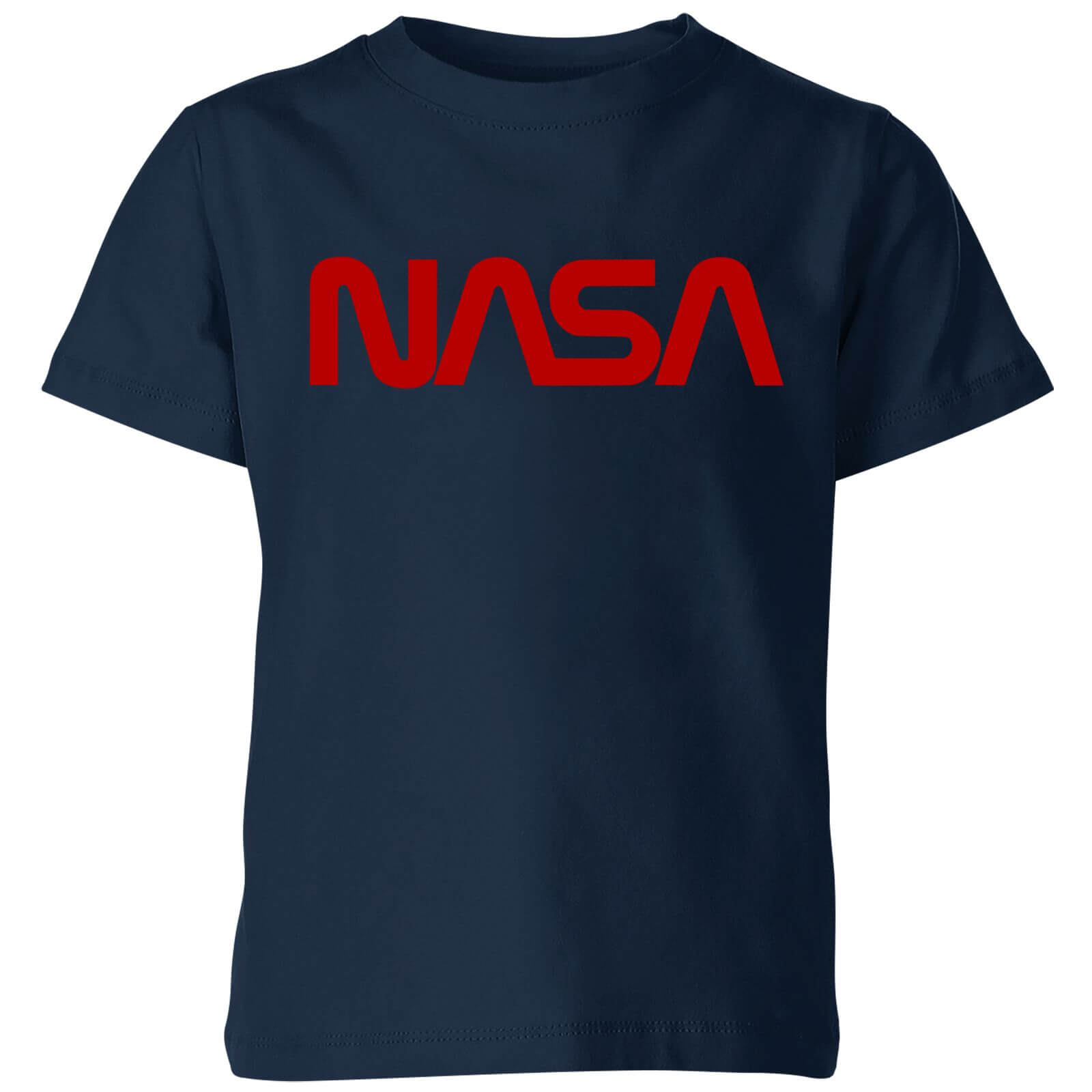 NASA Worm Red Logotype Kids