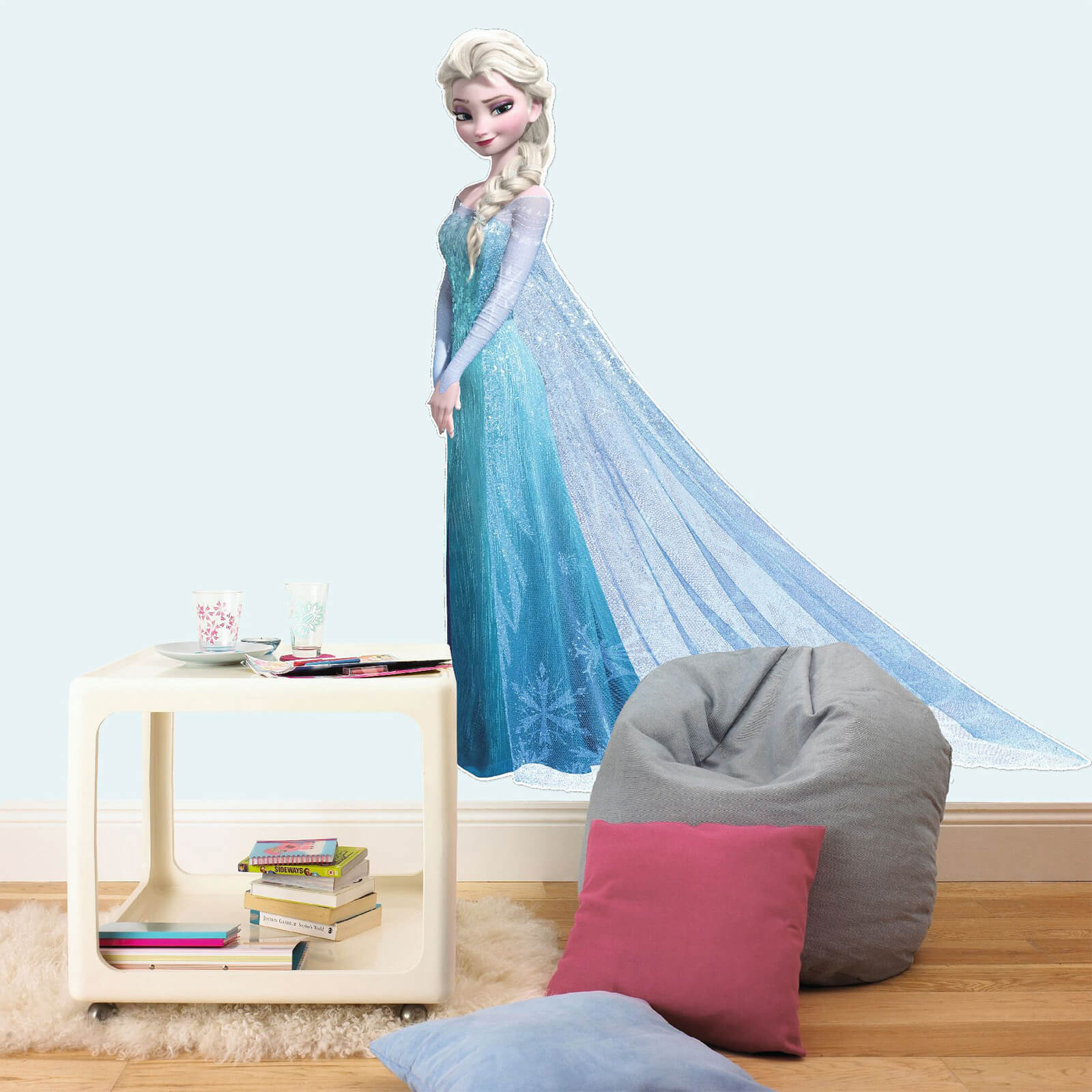 Disney Frozen Elsa Lifesize Wall Sticker