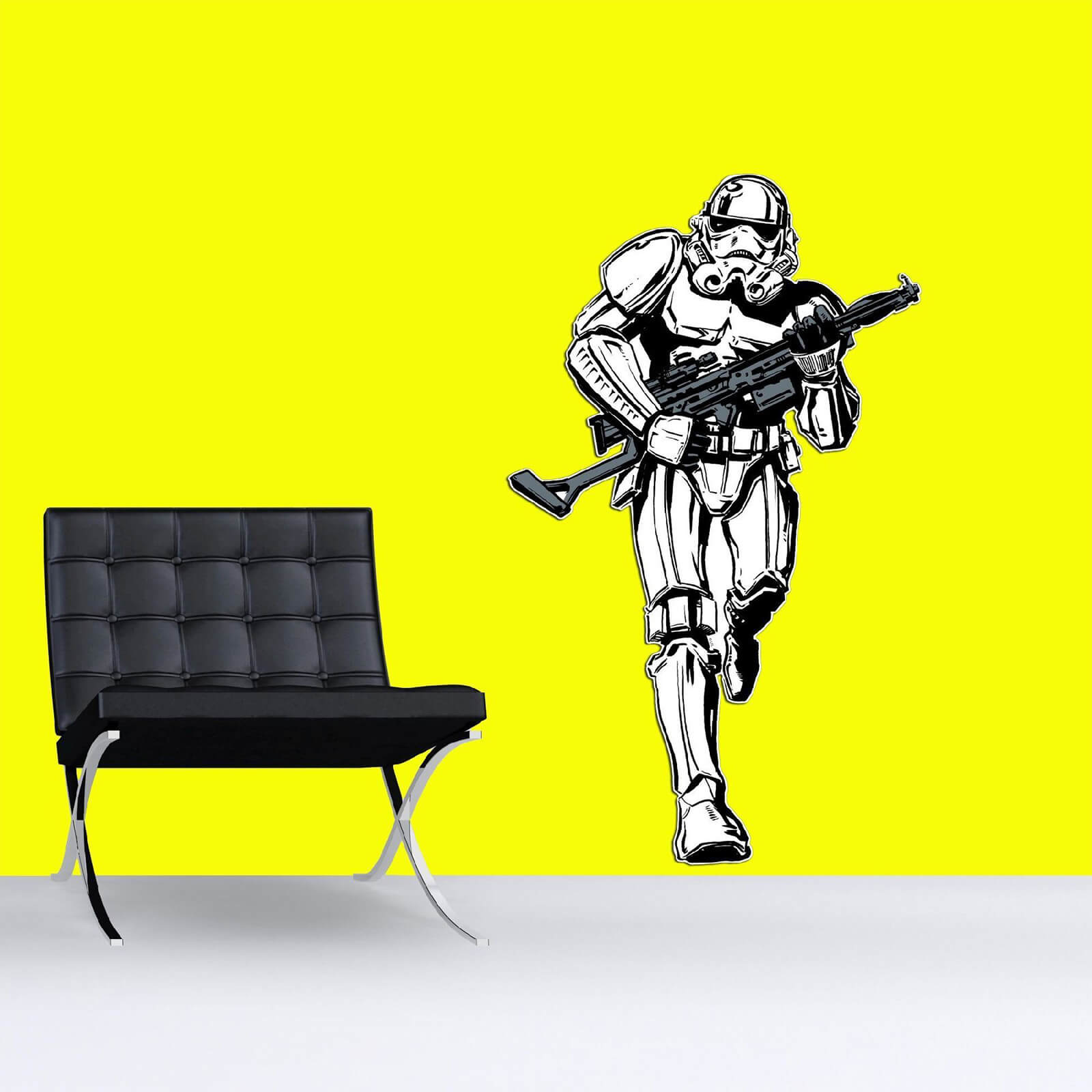 Star Wars Stormtrooper Lifesize Wall Sticker