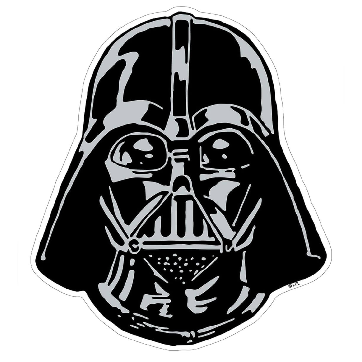 Star Wars Darth Vader Helmet Maxi Wall Sticker