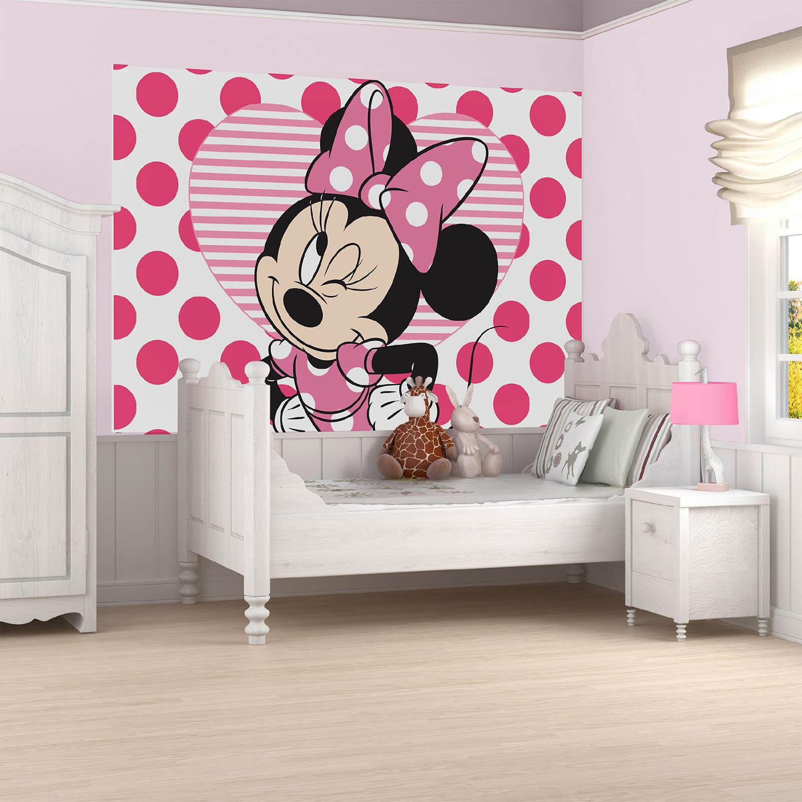 Disney I Love Minnie Wall Mural