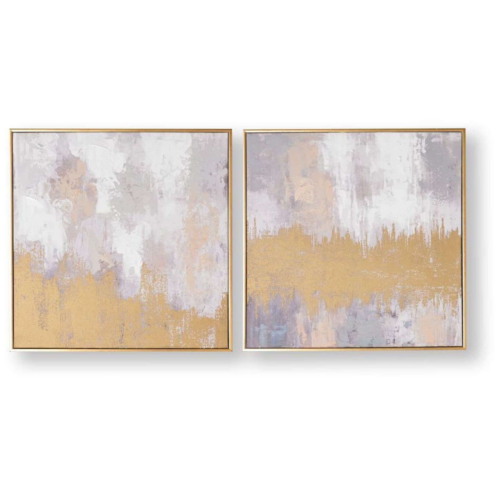 Art for the Home Laguna Mist Framed Printed Canvas (Set of 2)