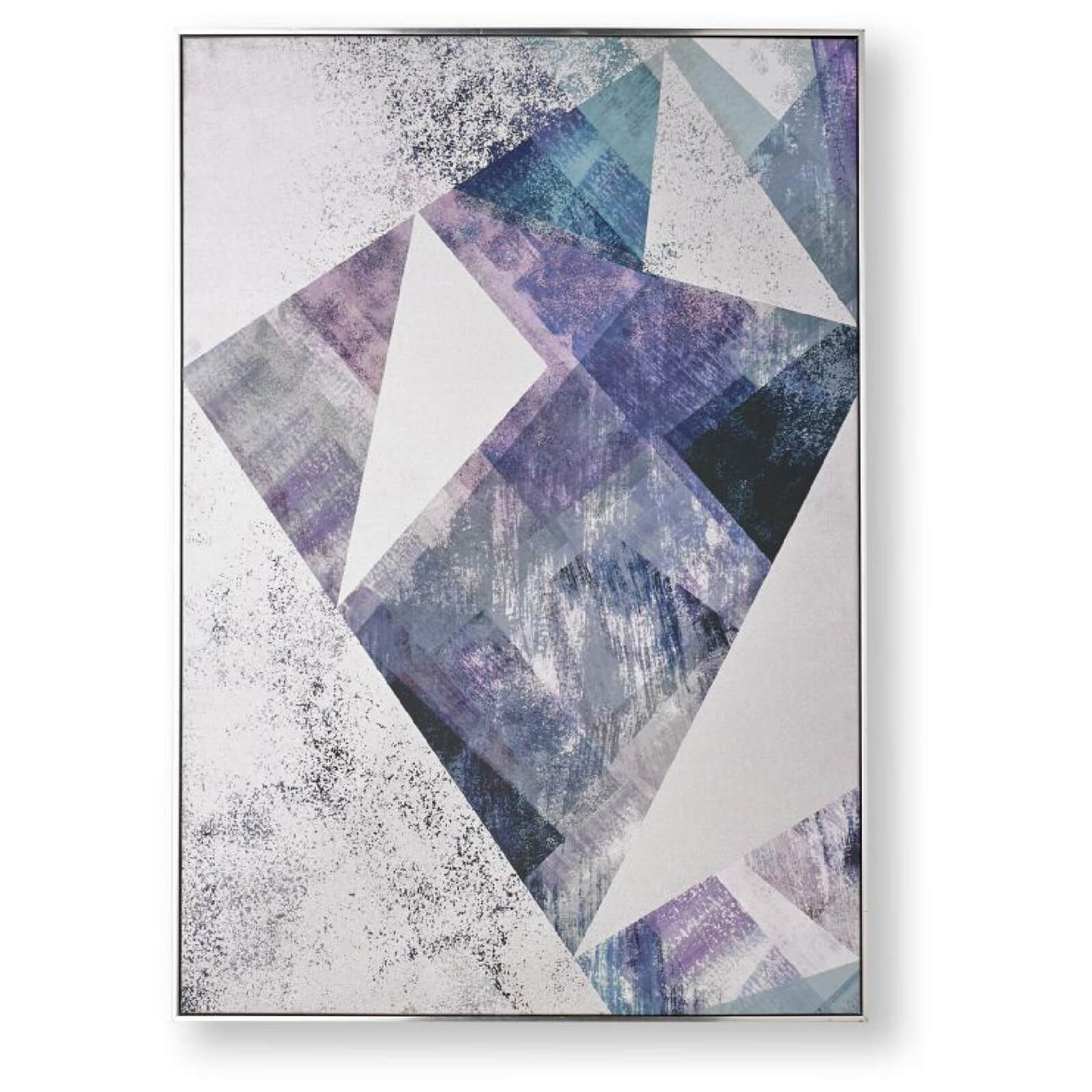 Art for the Home Midnight Aura Framed Printed Canvas