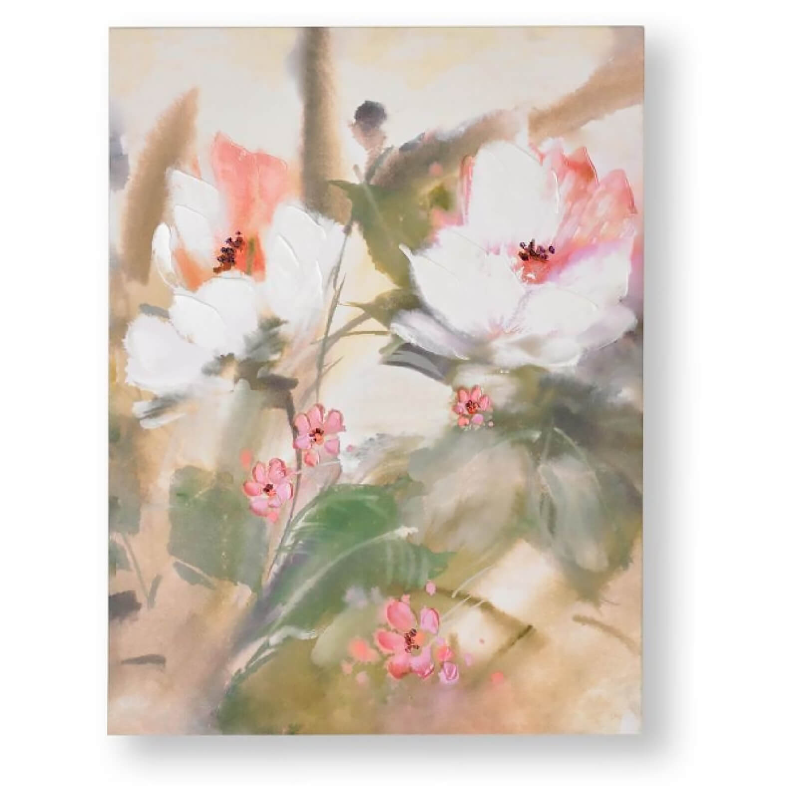 Art for the Home Tropic Blooms Printed Canvas